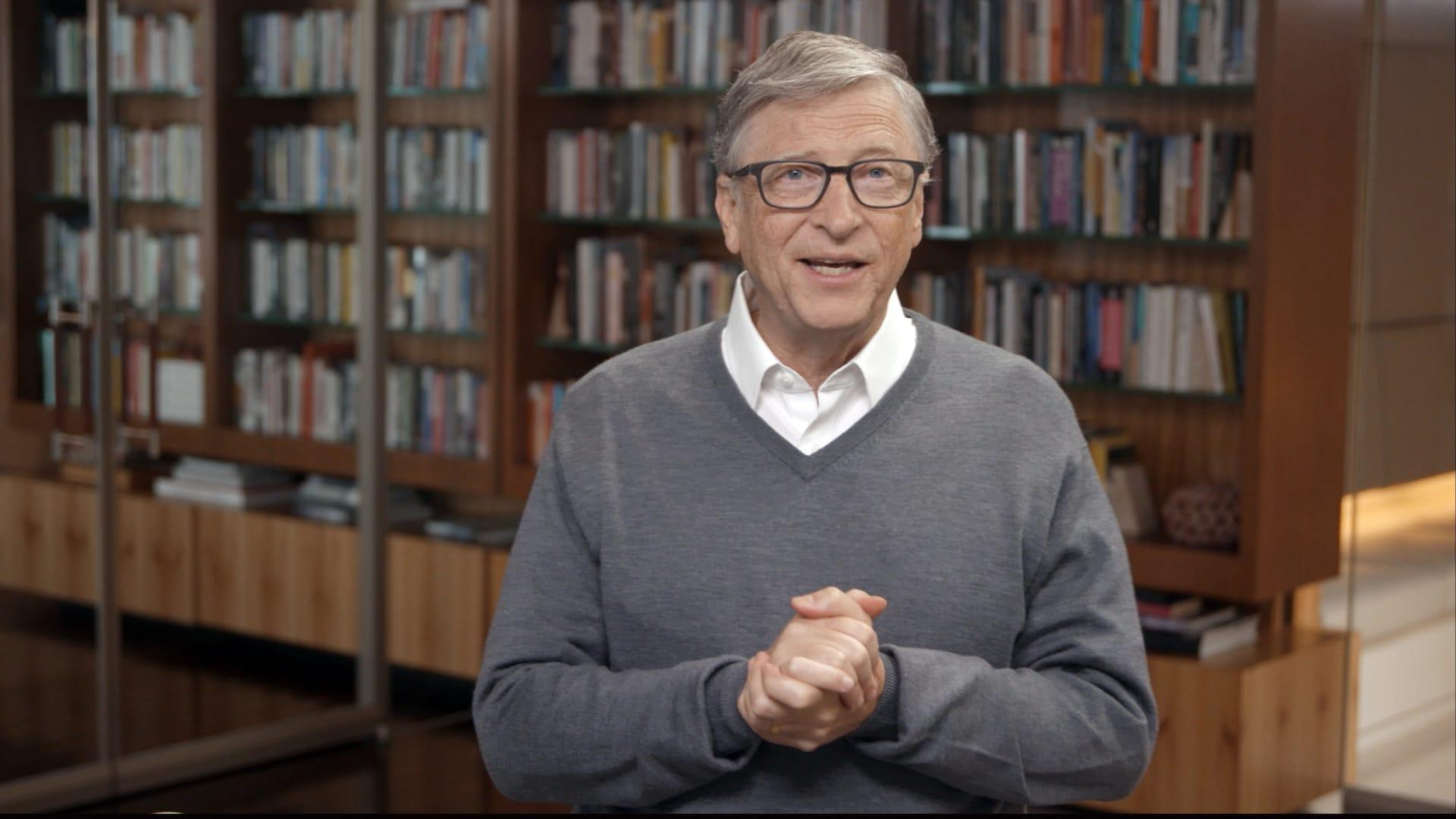 الملياردير الأمريكي مؤسس شركة مايكروسوفت بيل غيتس