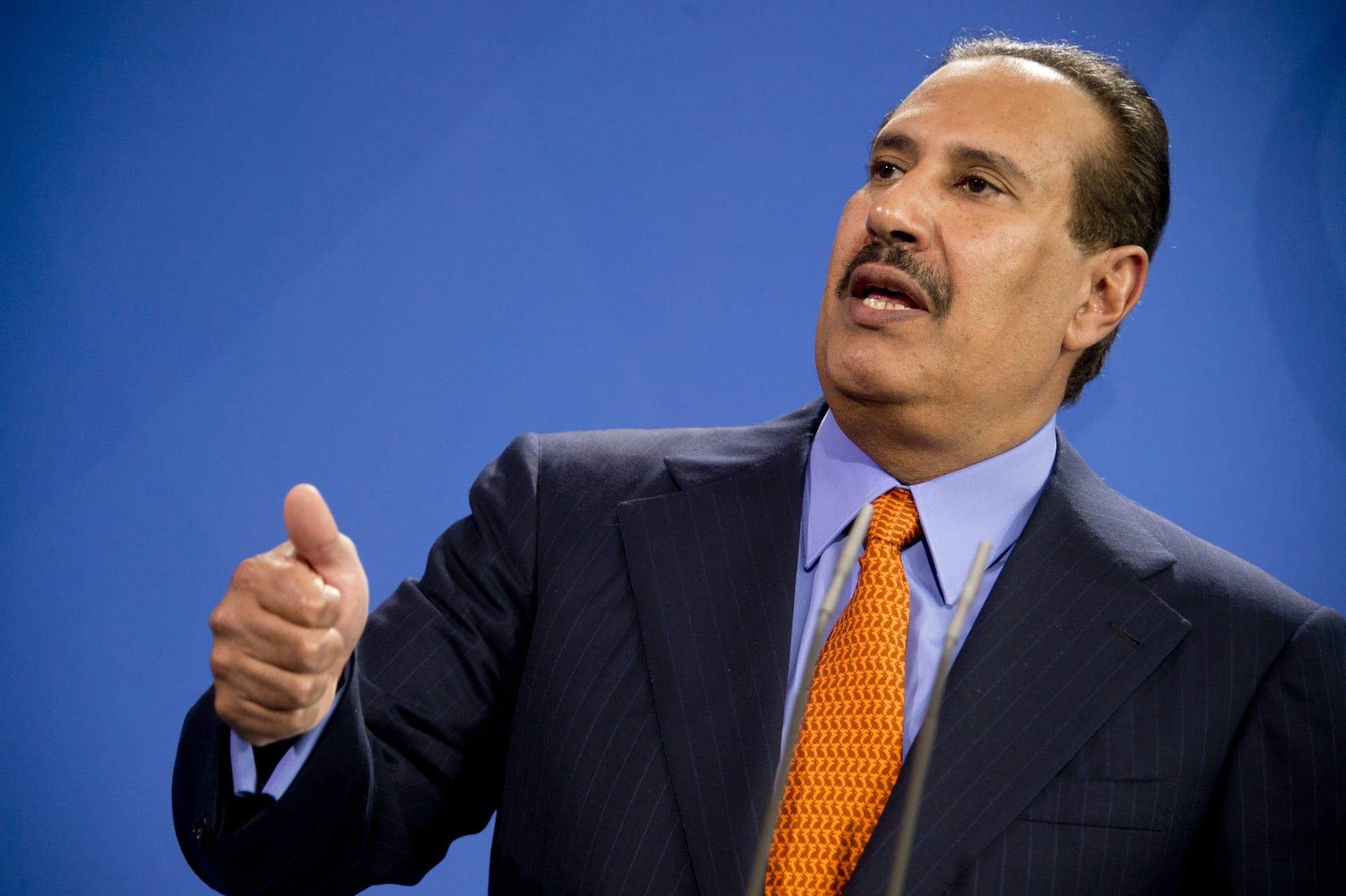 حمد بن جاسم يُعلق على حكم العدل الدولية بشأن قضية إغلاق المجال الجوي