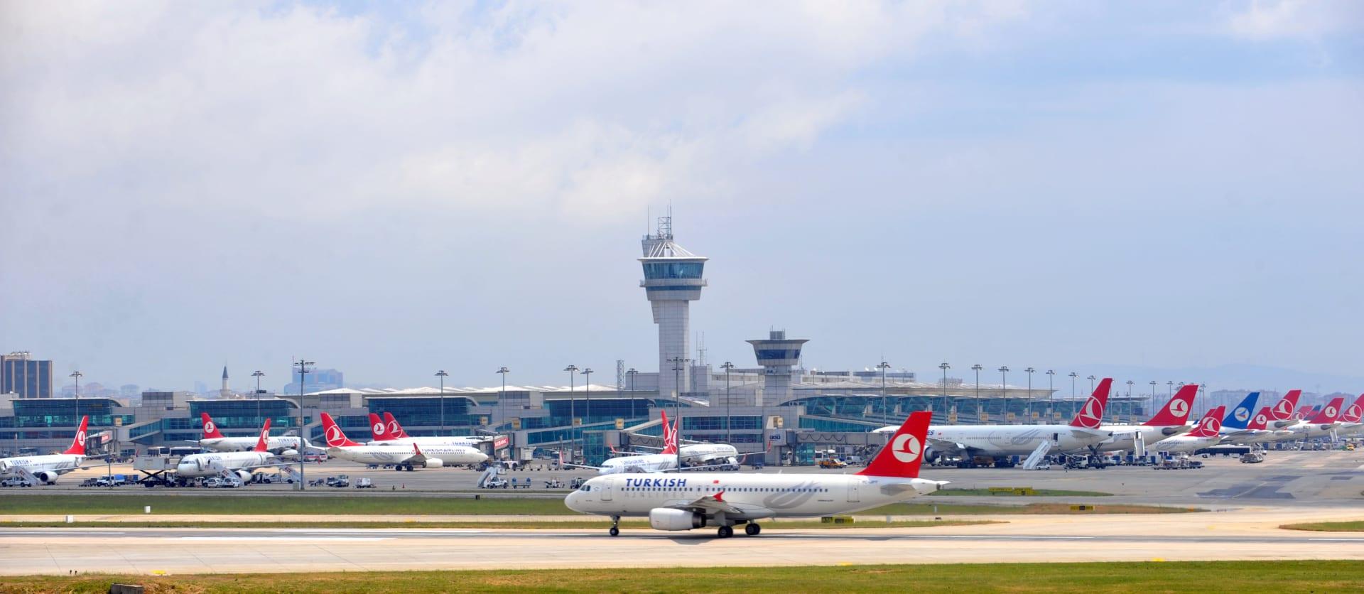 صورة أرشيفية لمطار اتاتورك الدولي العام 2013