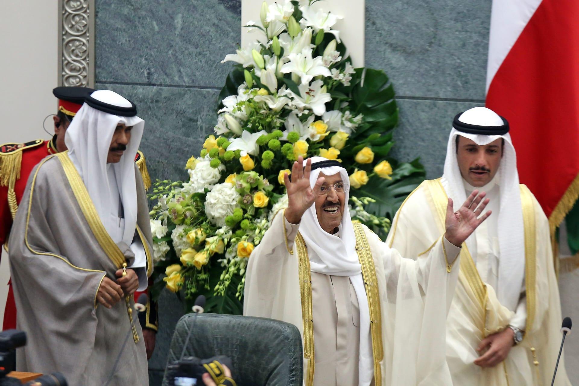 صورة أرشيفية لأمير الكويت الشيخ صباح الأحمد الجابر الصباح
