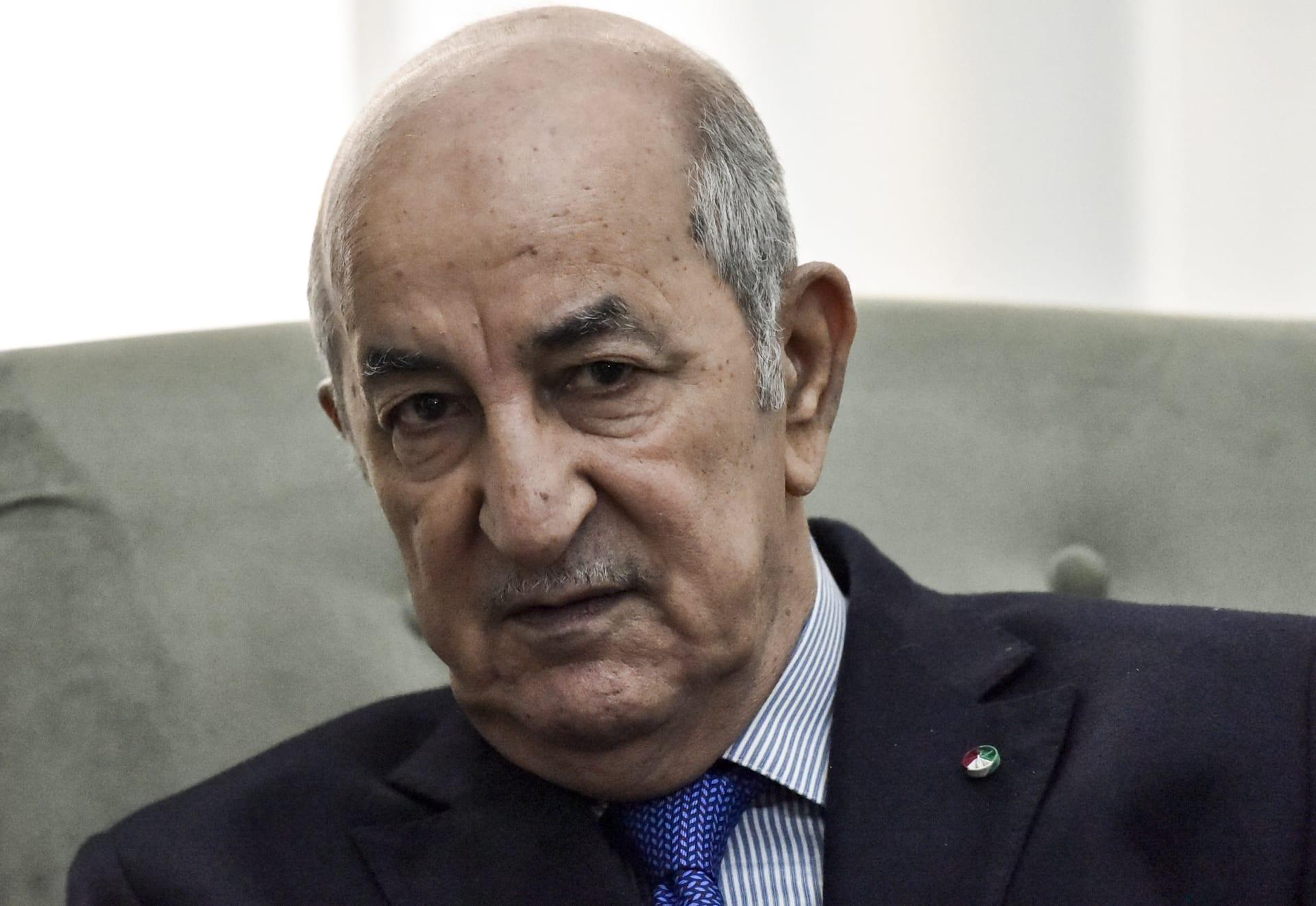 """الرئيس الجزائري: محاولة أطراف تسليح قبائل ليبيا يحولها إلى """"صومال جديدة"""""""