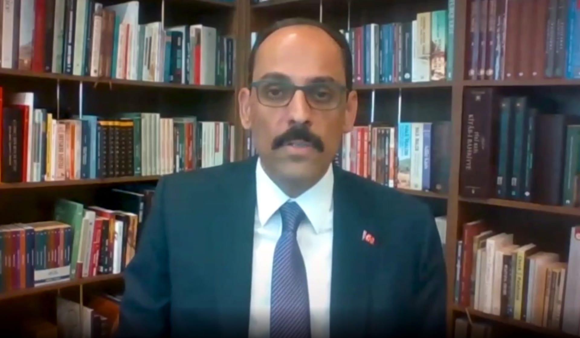 إبراهيم قالن المتحدث باسم الرئاسة التركية