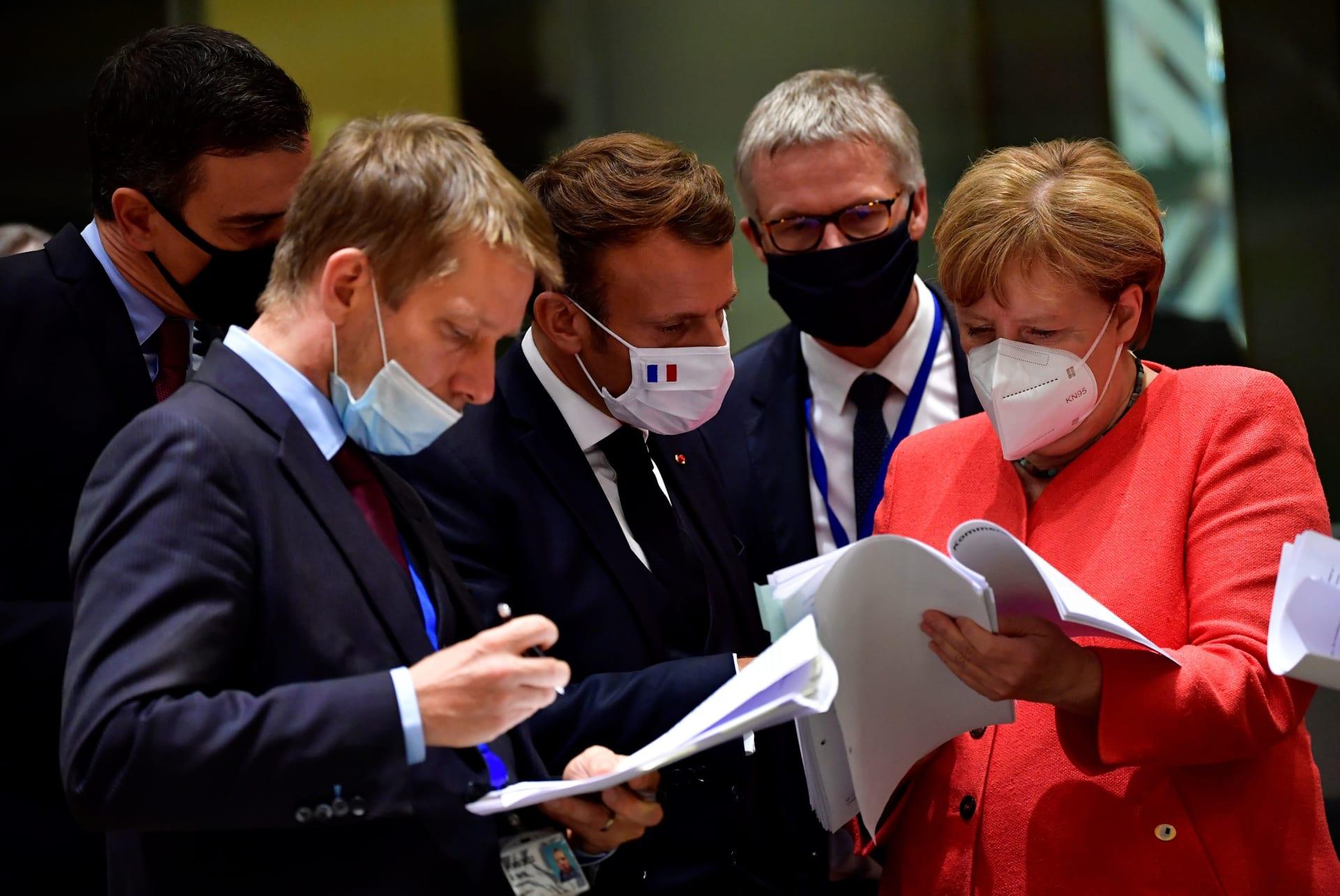 قادة الاتحاد الأوروبي في بركسل يبحثون خطة المساعدات المالية للتعافي من آثار كورونا