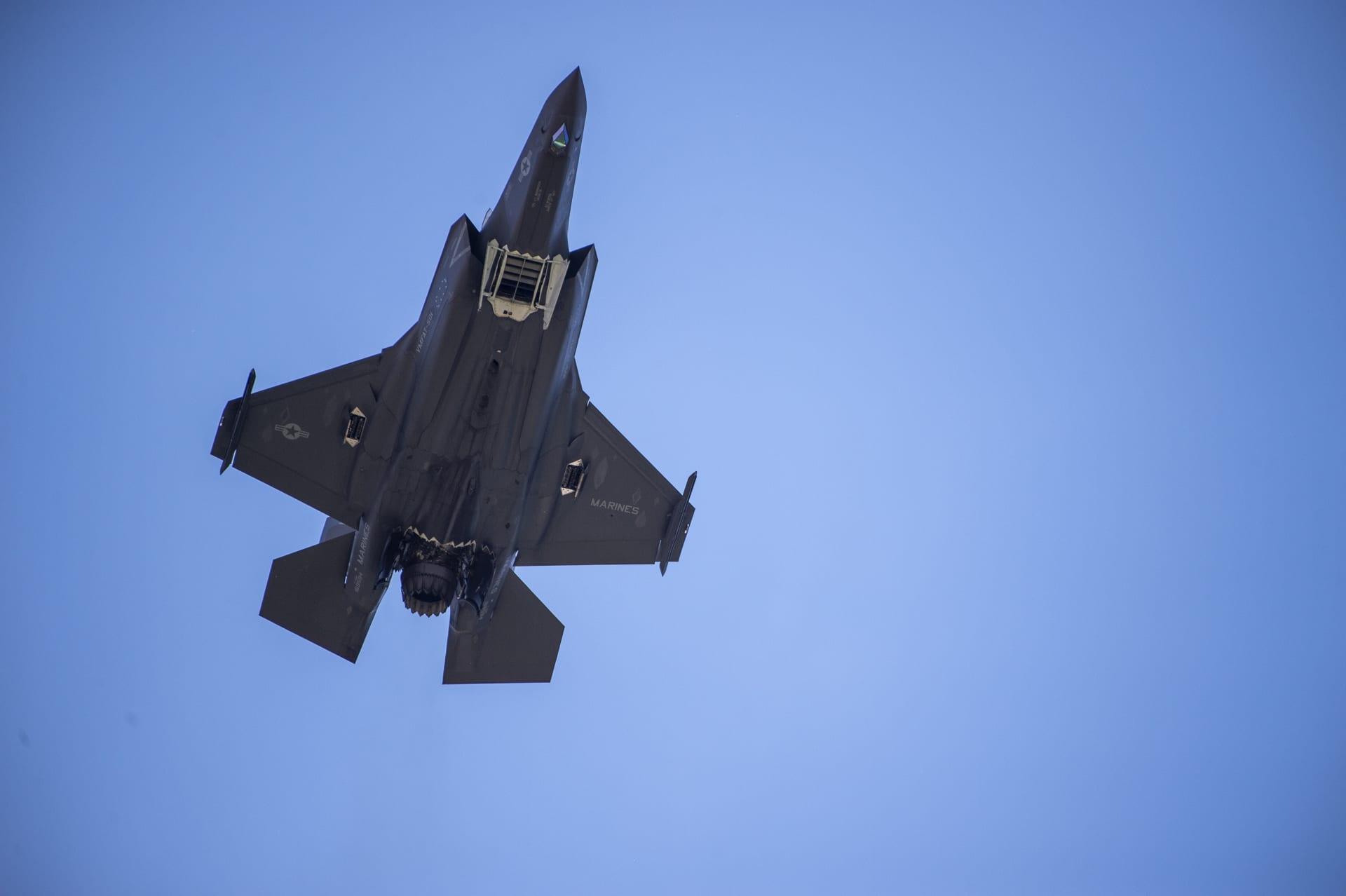 طائرات F - 35  الأمريكية
