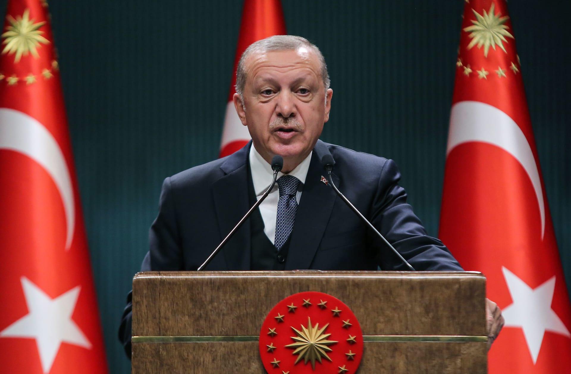 """أردوغان بعد تفويض البرلمان المصري للسيسي بالتدخل العسكري في ليبيا: """"يجب ألا يتحمس أحد"""""""