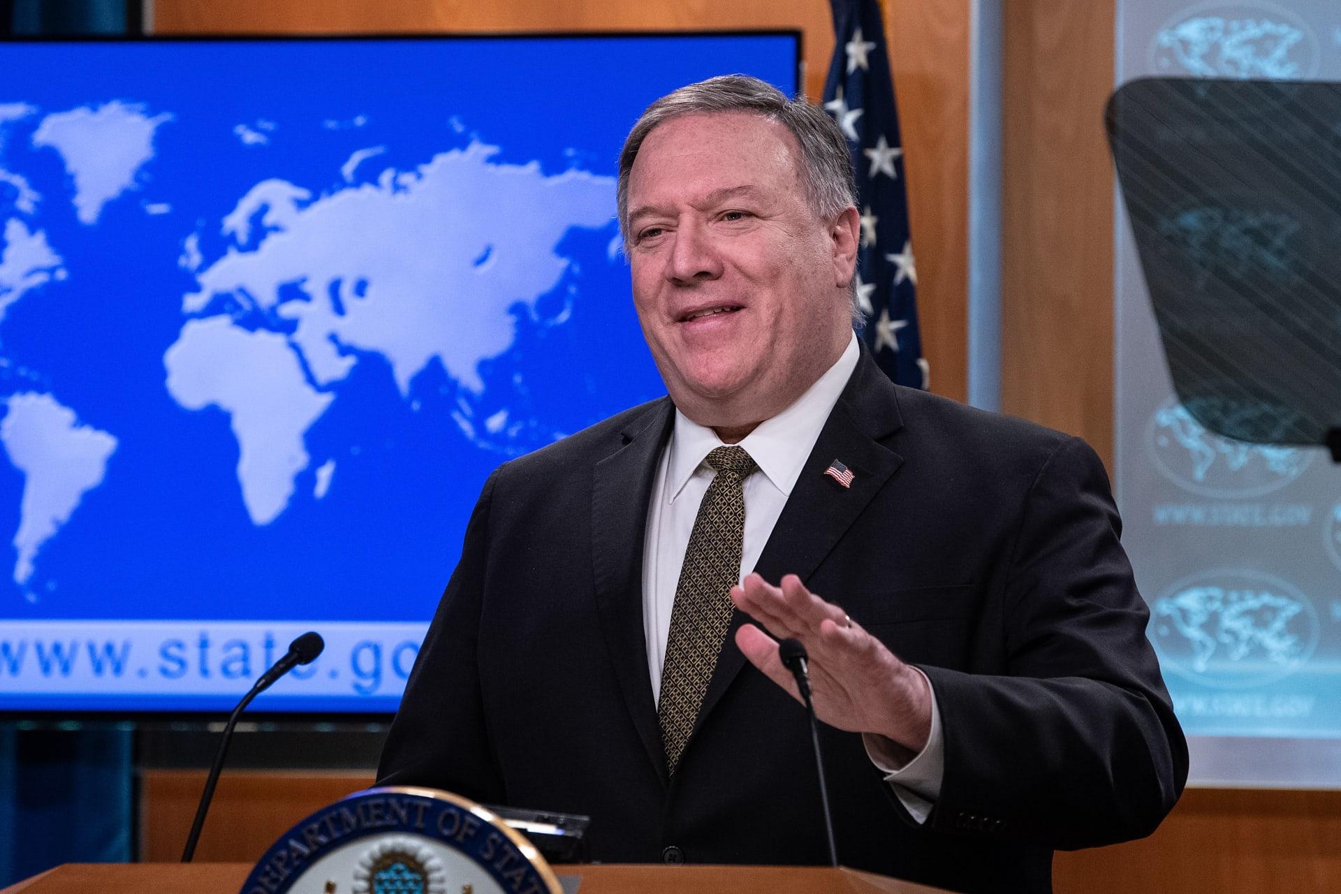 الخارجية الأمريكية: سنضمن تمديد حظر الأسلحة على إيران.. وسياسة جديدة لردع طهران
