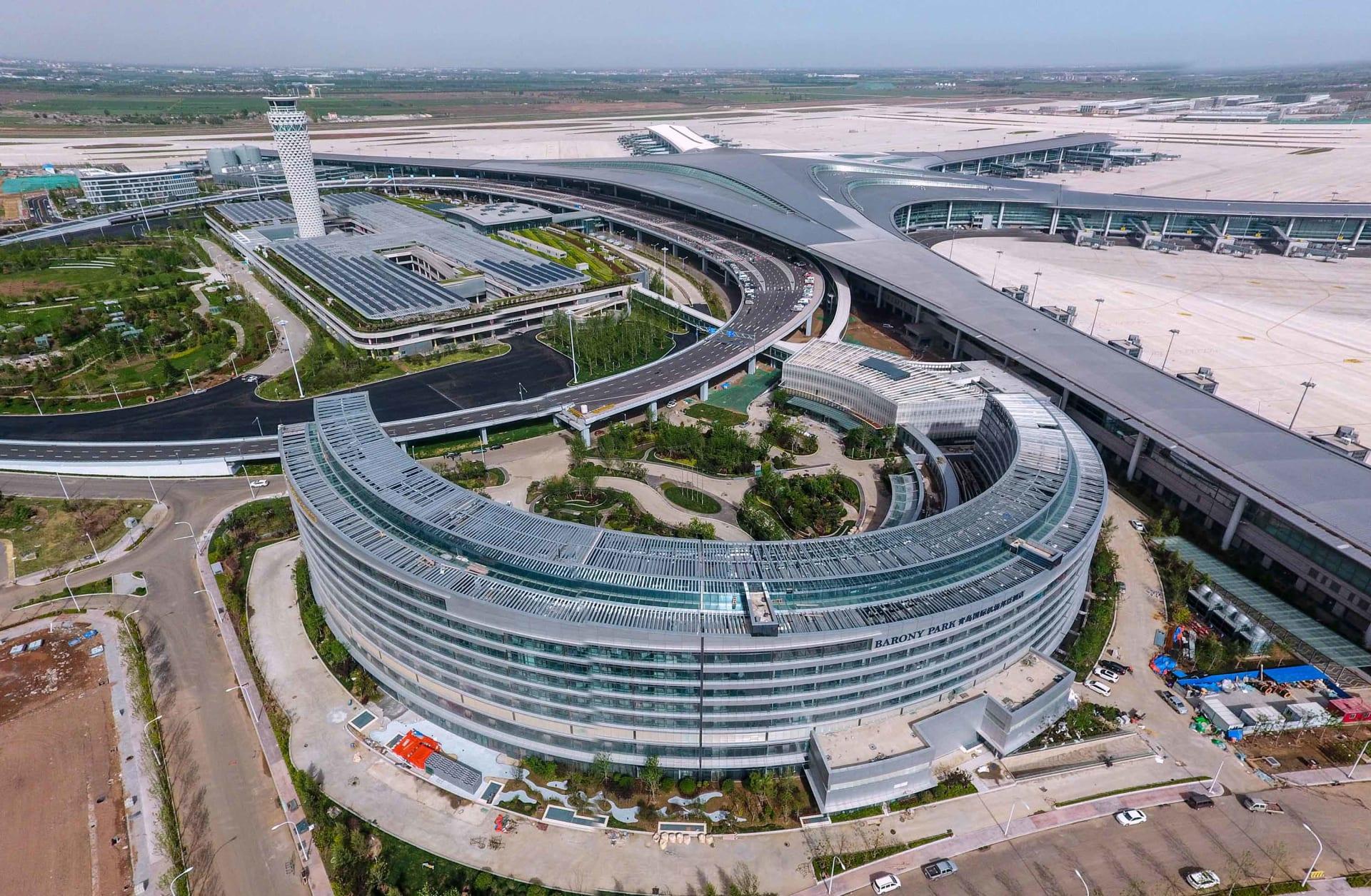 مطار غينغادو جياودونغ الدولي الجديد