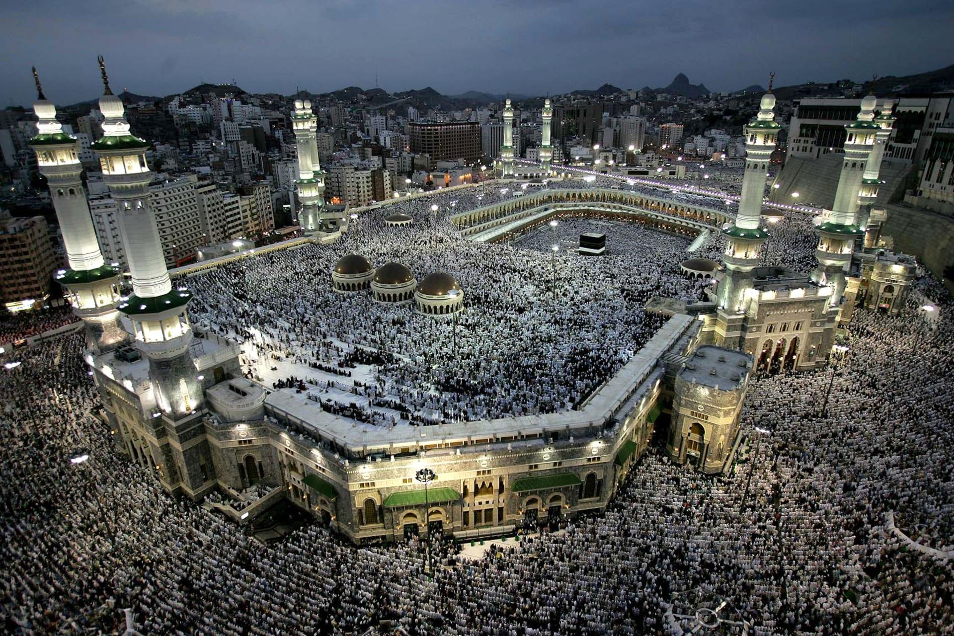 صورة أرشيفية من مكة بموسم الحج