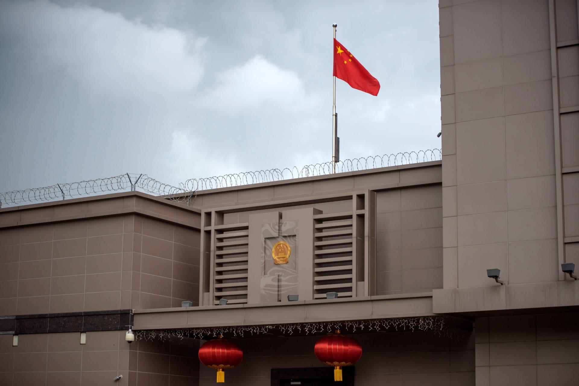 القنصلية الصينية في هيوستن والتي تطالب السلطات الأمريكية بإغلاقها