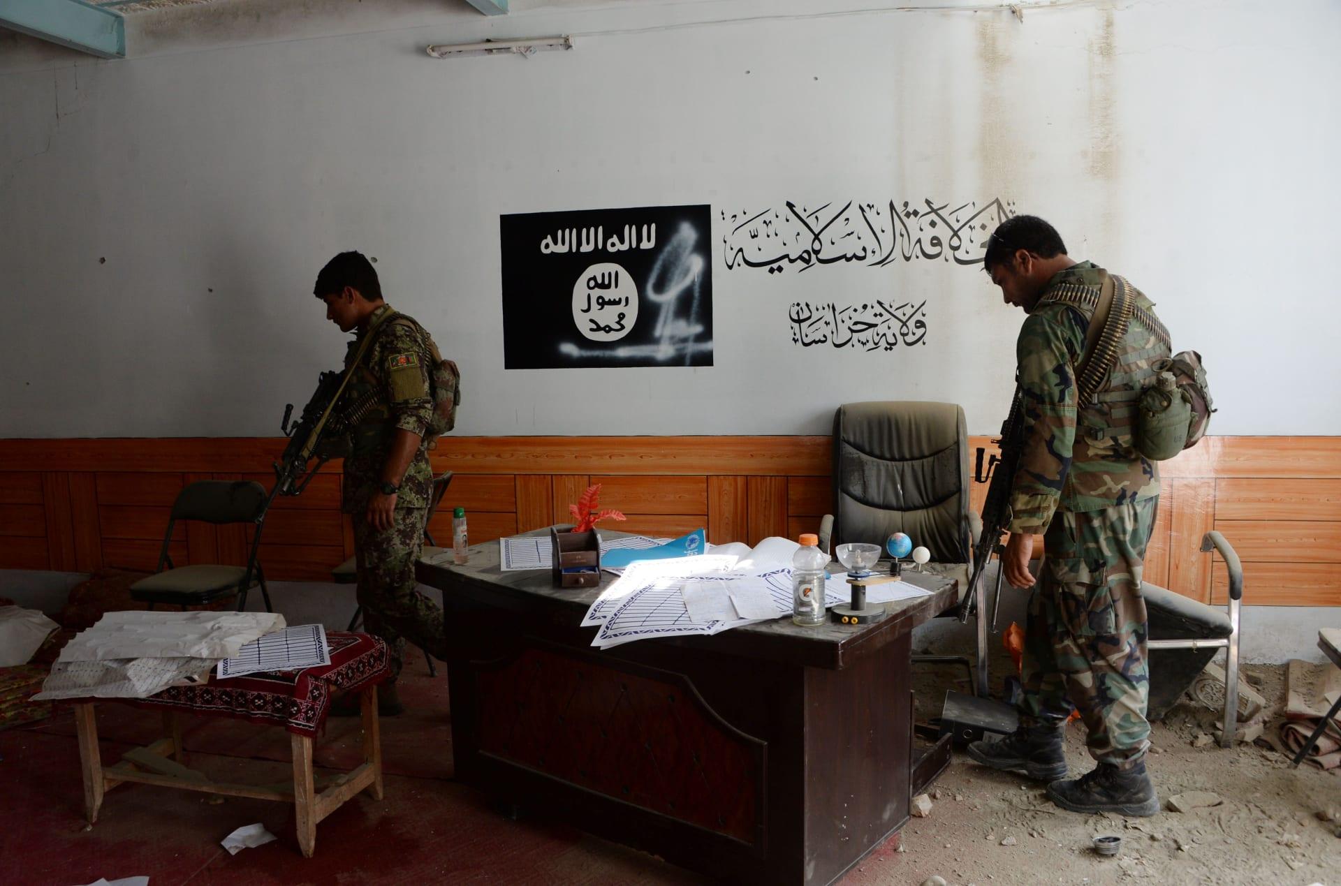 تنظيم داعش الأفغاني يعلن عن زعيم جديد
