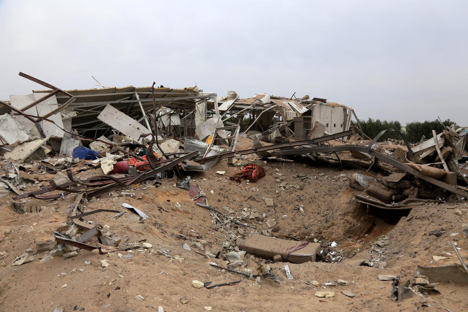 الجيش العراقي: 3 صواريخ كاتيوشا سقطت على معسكر التاجي.. وتسببت في أضرار كبيرة