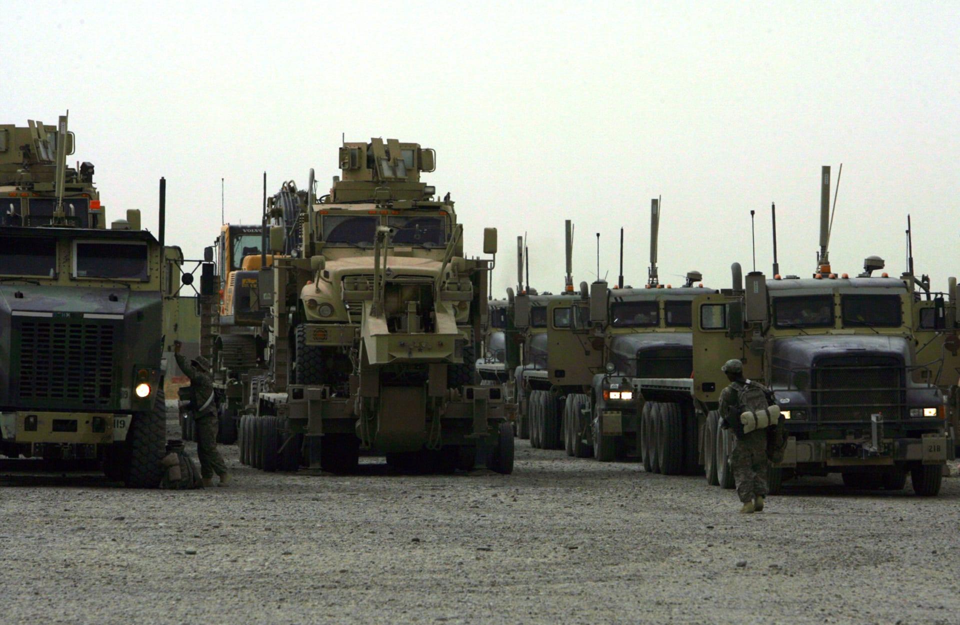 الجيش العراقي يؤكد حدوث انفجارين في قاعدة سبايكر بمحافظة صلاح الدين
