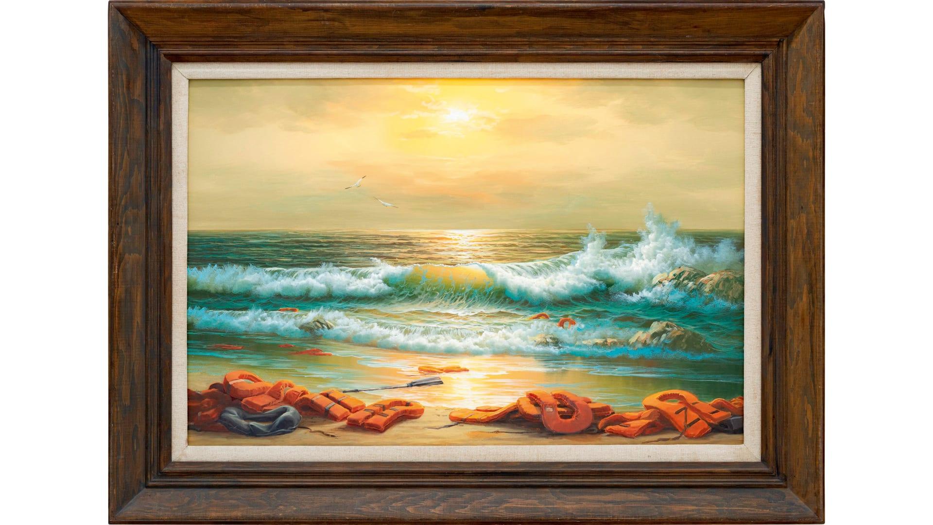 بمبلغ 2.9 مليون دولار..بانكسي يتبرع بريع مزاد أحد أعماله الفنية لصالح مستشفى فلسطيني