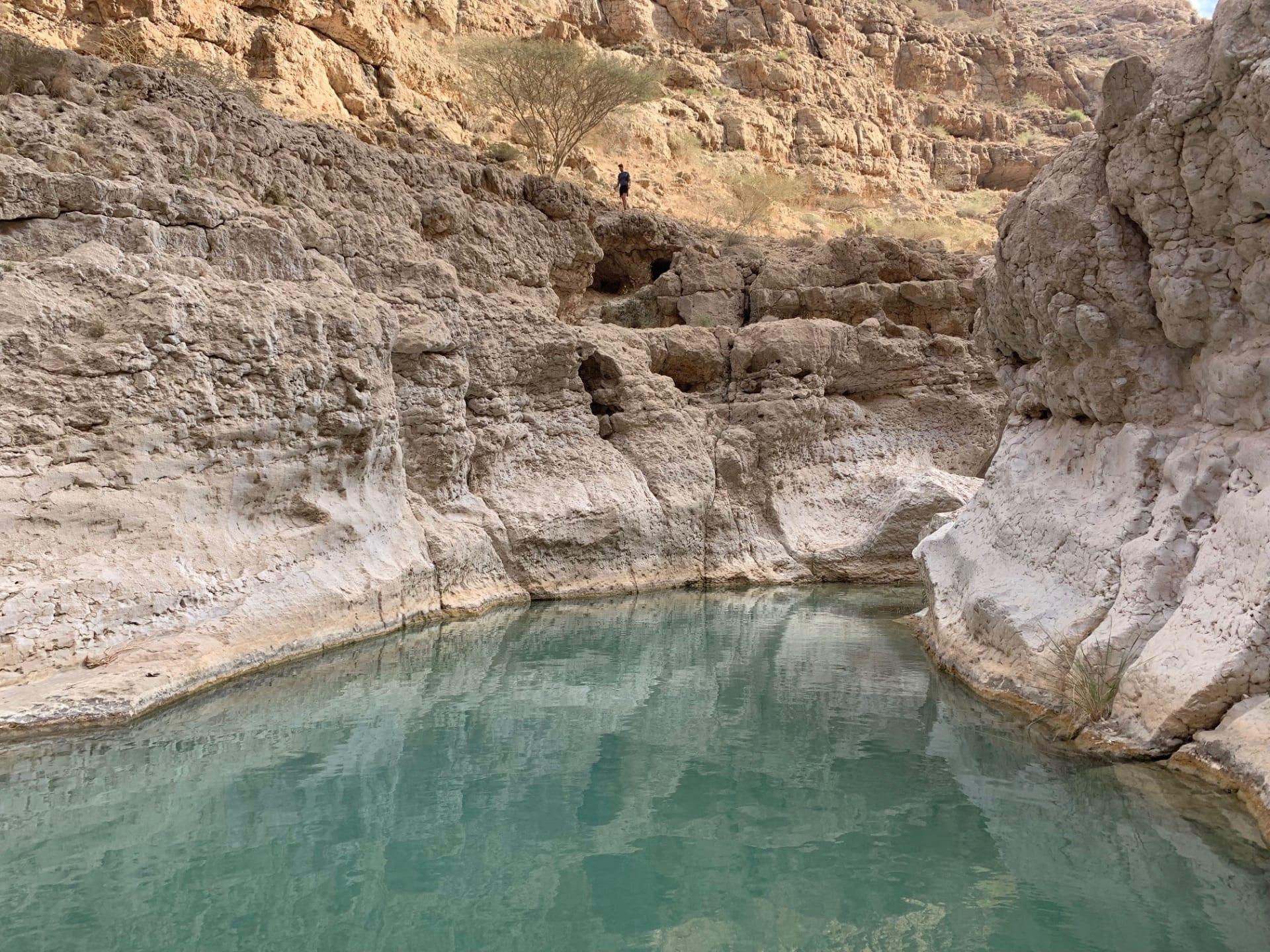 وادي شاب في عمان