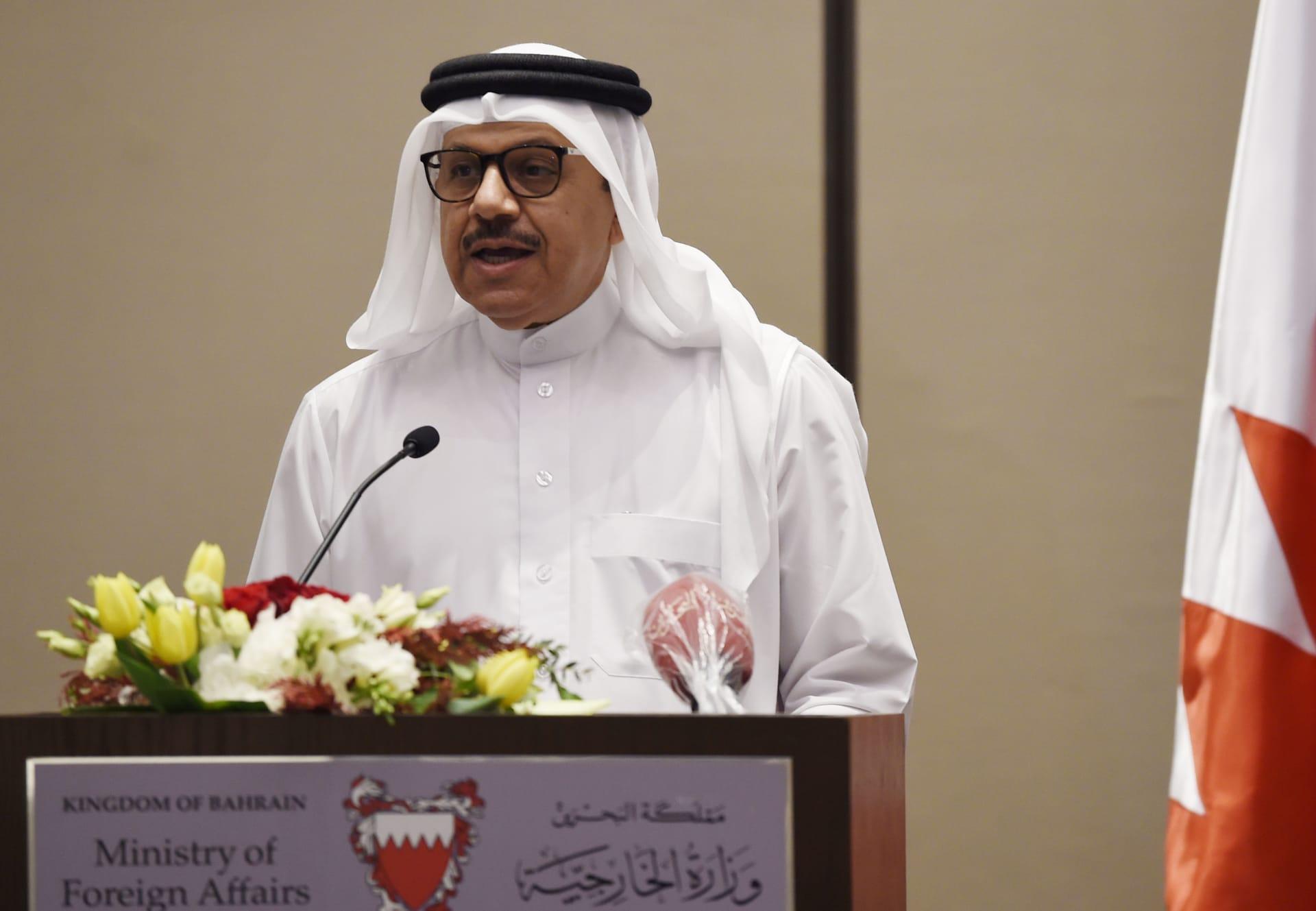وزير خارجية البحرين عبداللطيف الزياني