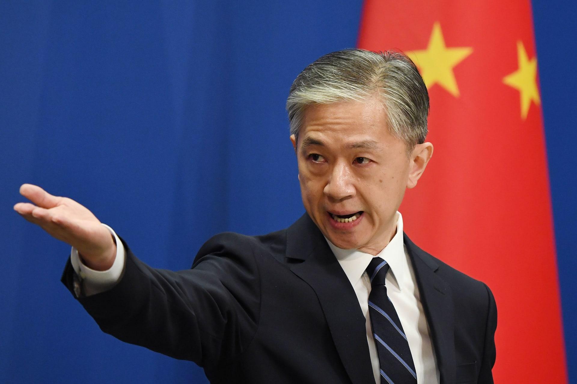 وانغ وين بين المتحدث باسم وزارة الخارجية الصينية