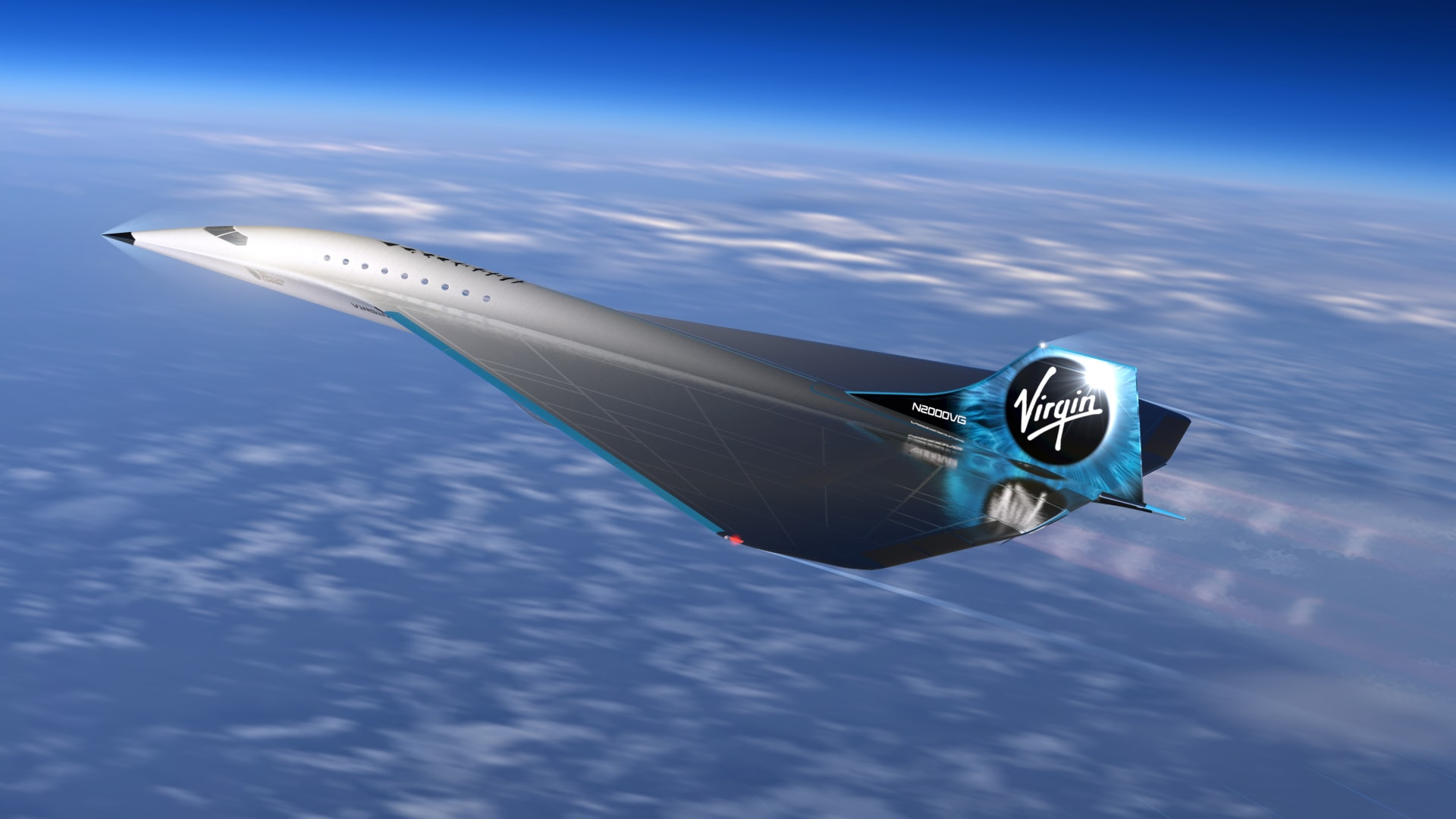 فيرجن غالاكتيك تكشف النقاب عن تصميم طائرة نفاثة تفوق سرعة الصوت بـ3 أضعاف