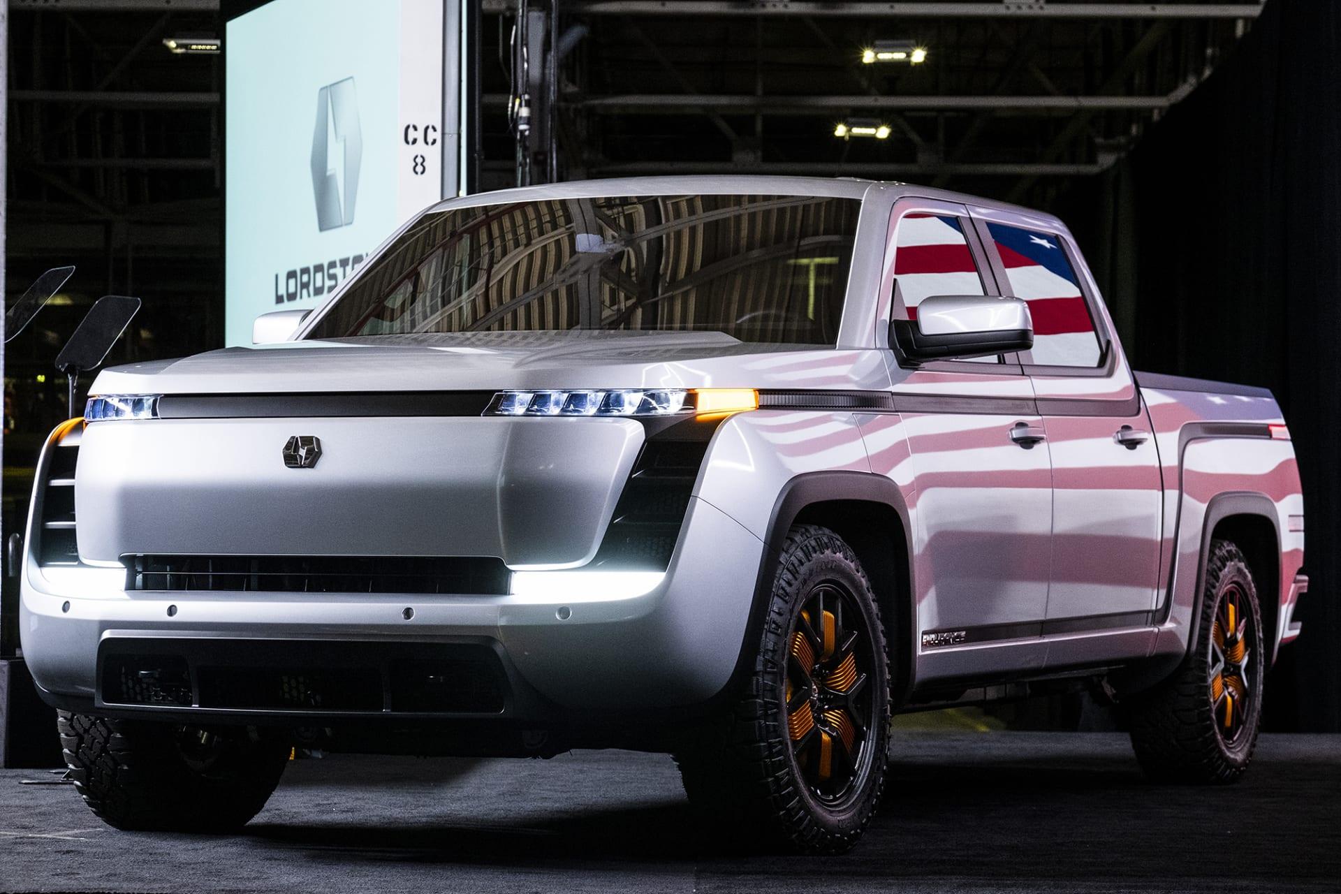 """شركة """"لوردستاون موتورز"""" لتصنيع الشاحنات الكهربائية تطرح أسهمها في السوق المالي"""