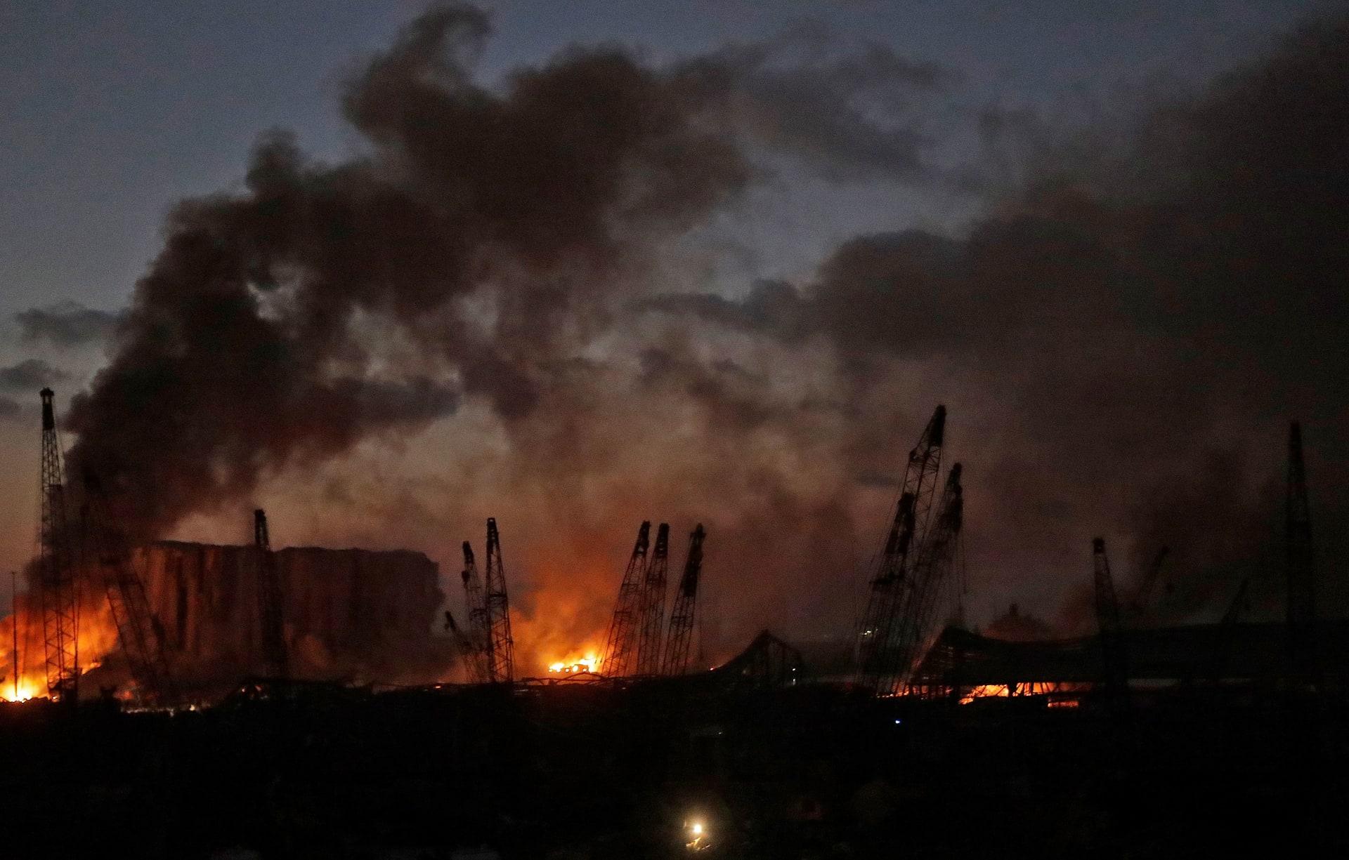 على بعد 240 كم.. سكان قبرص يشعرون بانفجار مرفأ بيروت