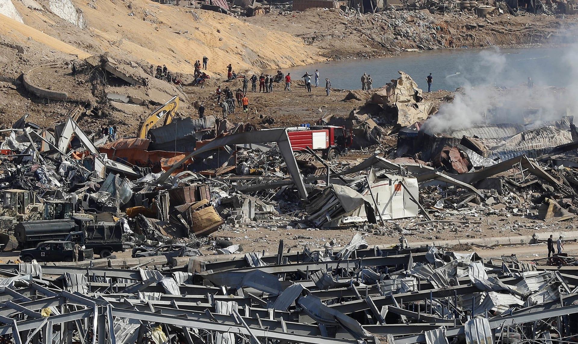 نتيجة انفجار مرفأ بيروت.. تضرر 90% من فنادق العاصمة