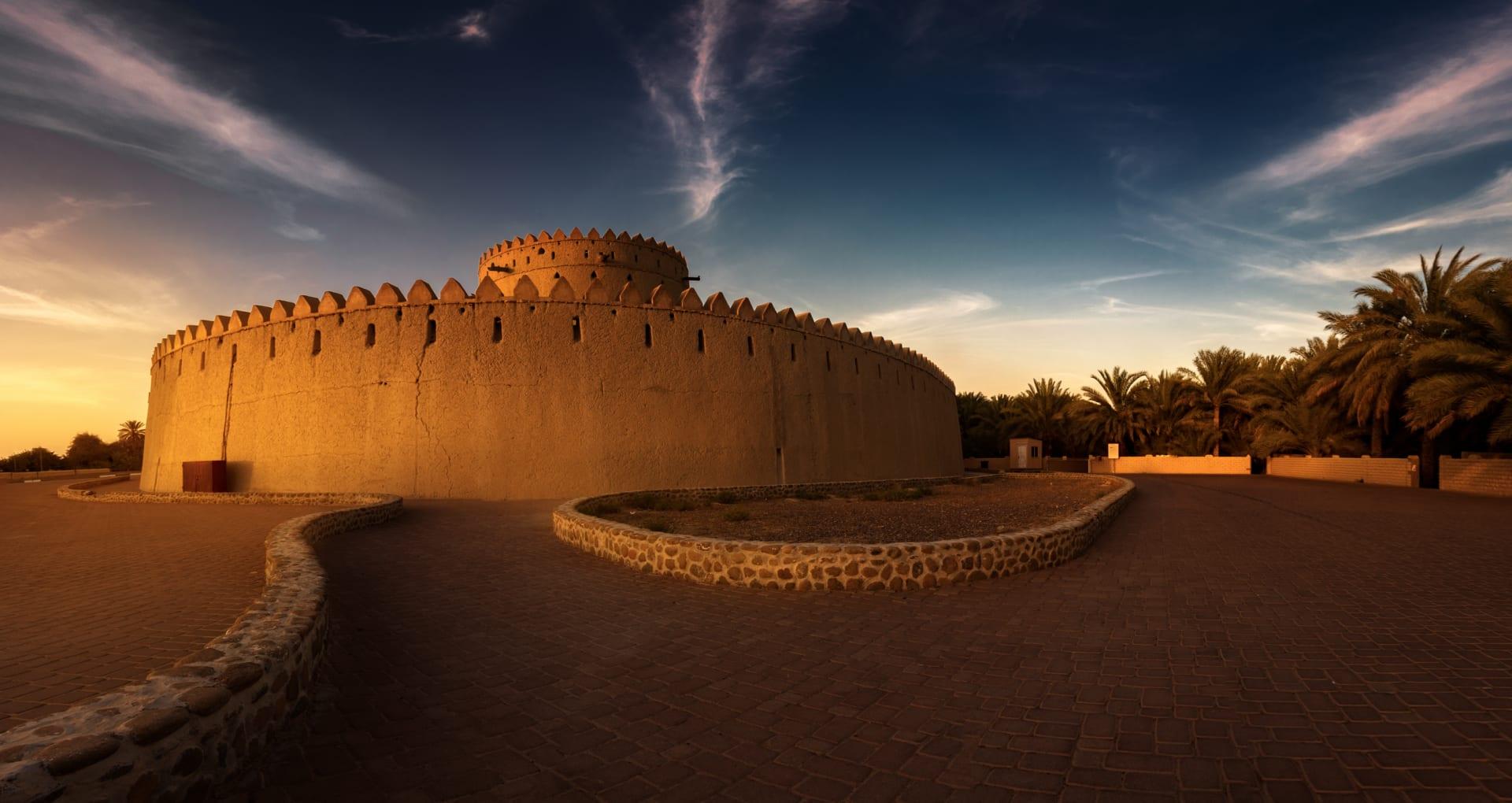بتفاصيله الذهبية.. مصور يبرز جمال أكبر قبة مسجد بلا أعمدة في الإمارات من الجو