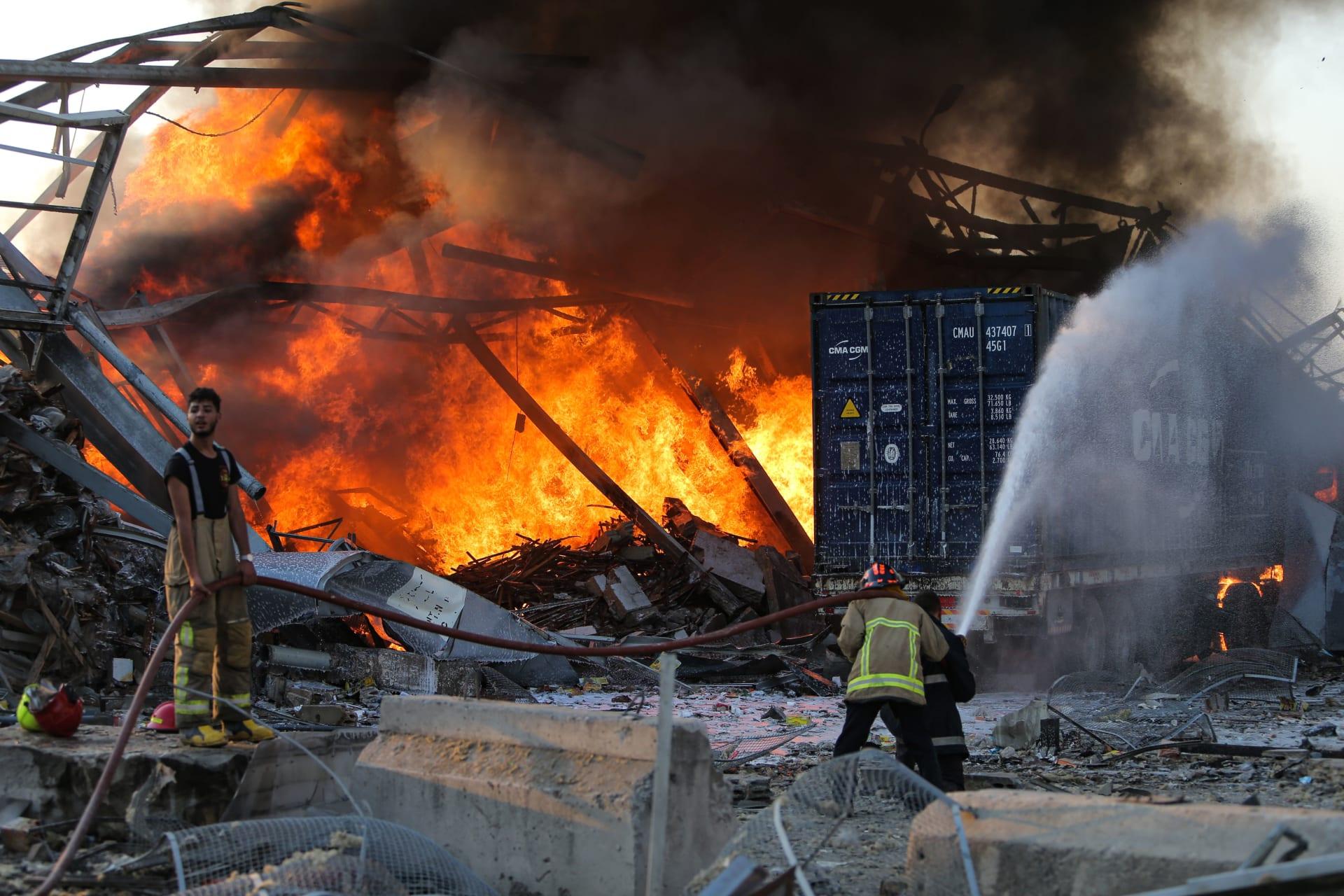 وزير الصحة اللبناني: حصيلة قتلى انفجار بيروت تبلغ 135 والإصابات 5 آلاف