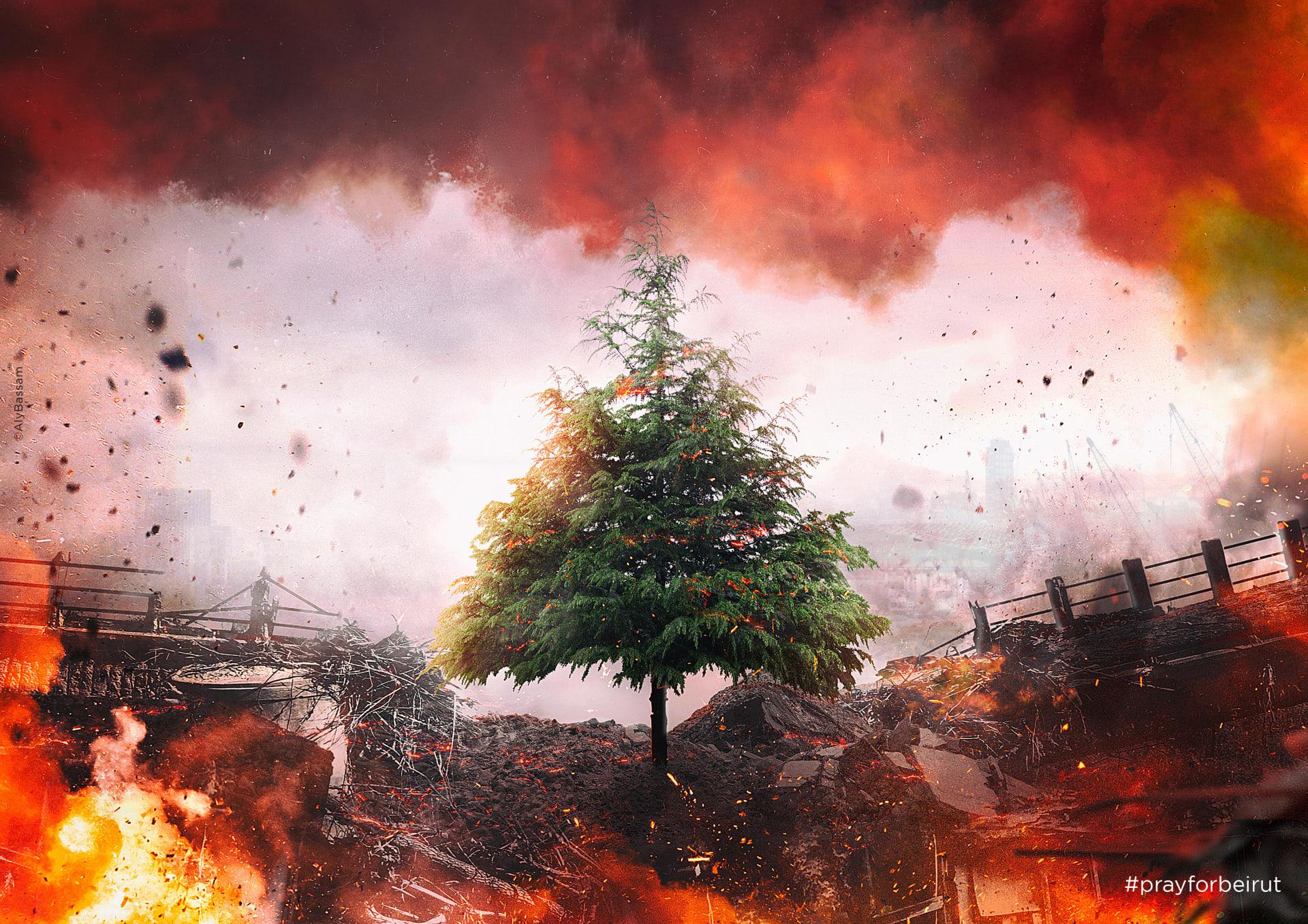 انفجار بيوت