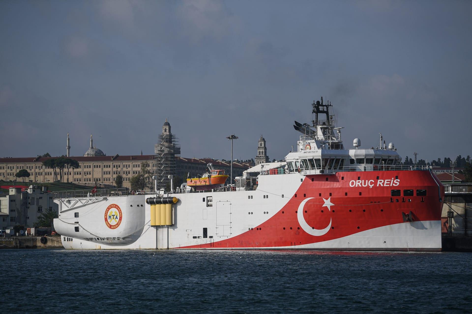 تركيا ترسل سفينة مسح اهتزازي إلى مياه المتوسط المتنازع عليها.. واليونان تُحذر