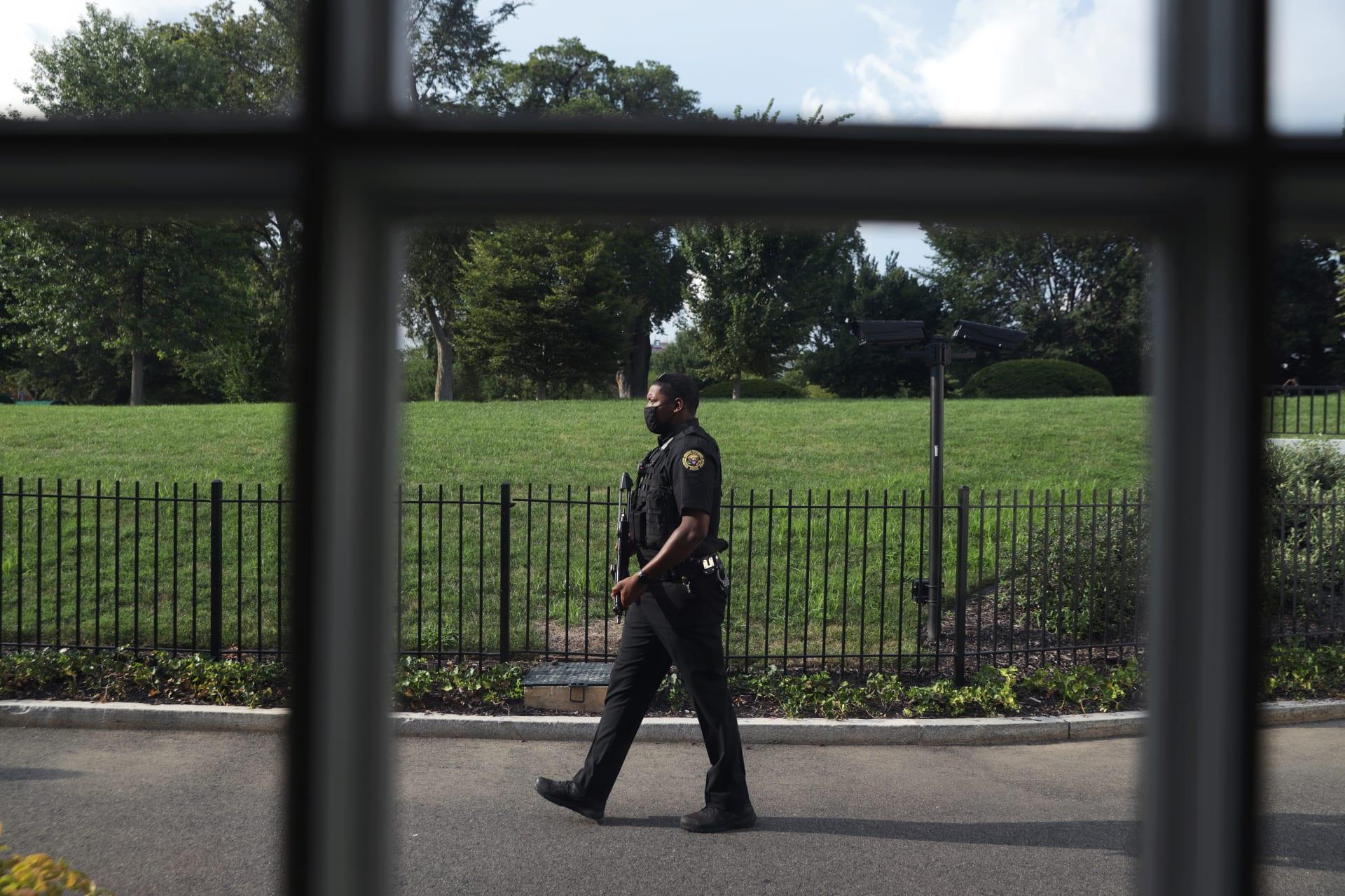 الخدمة السرية: ضابط تورط في إطلاق النار قرب البيت الأبيض