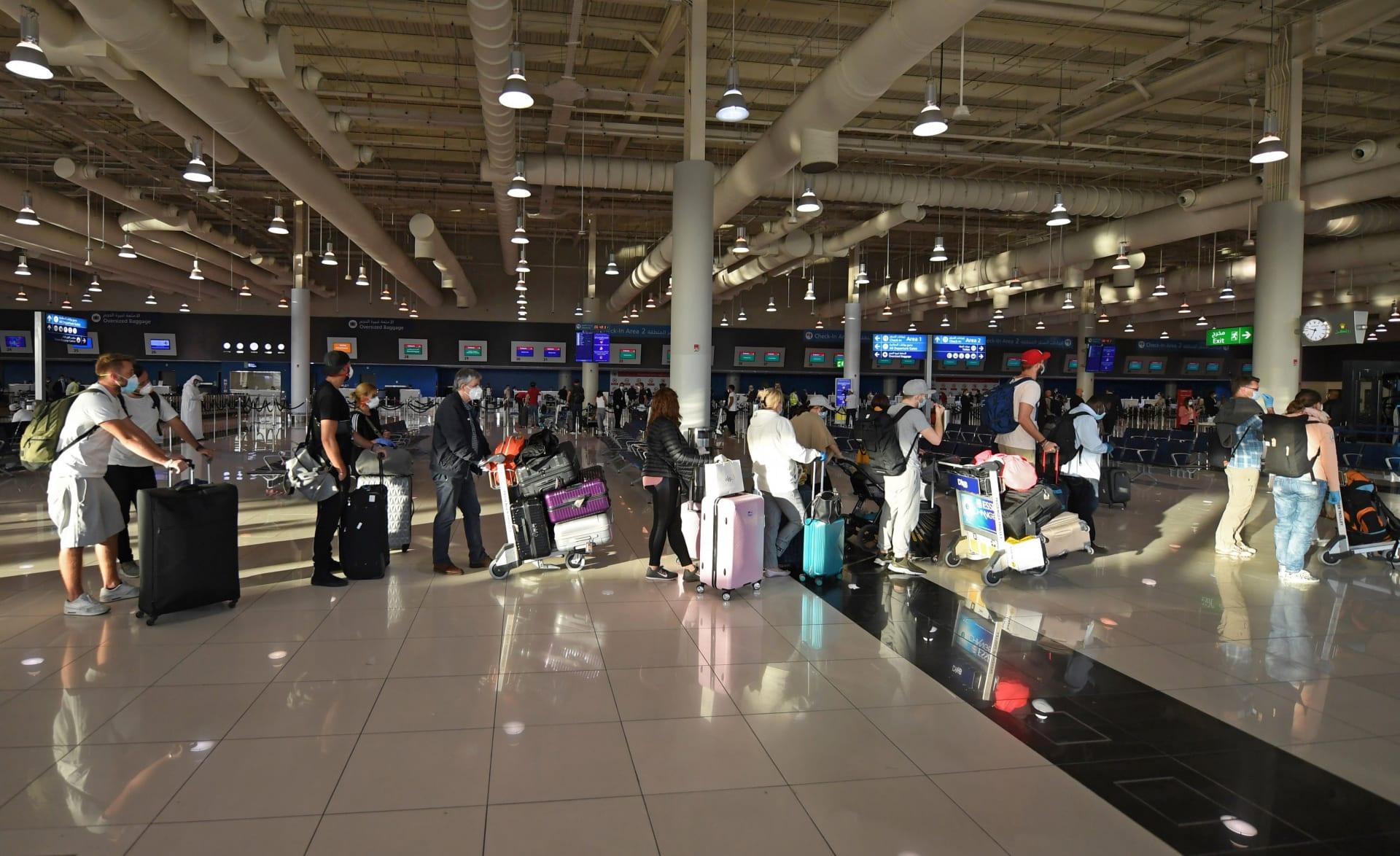 صورة أرشيفية من داخل مطار دبي الدولي