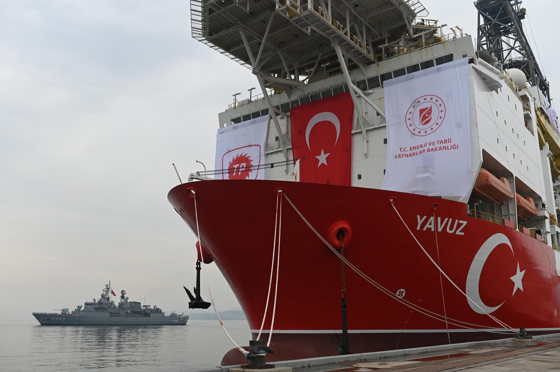 الاتحاد الأوروبي يدعو تركيا لوقف التنقيب في منطقة بحرية رسمت حدودها قبرص ومصر