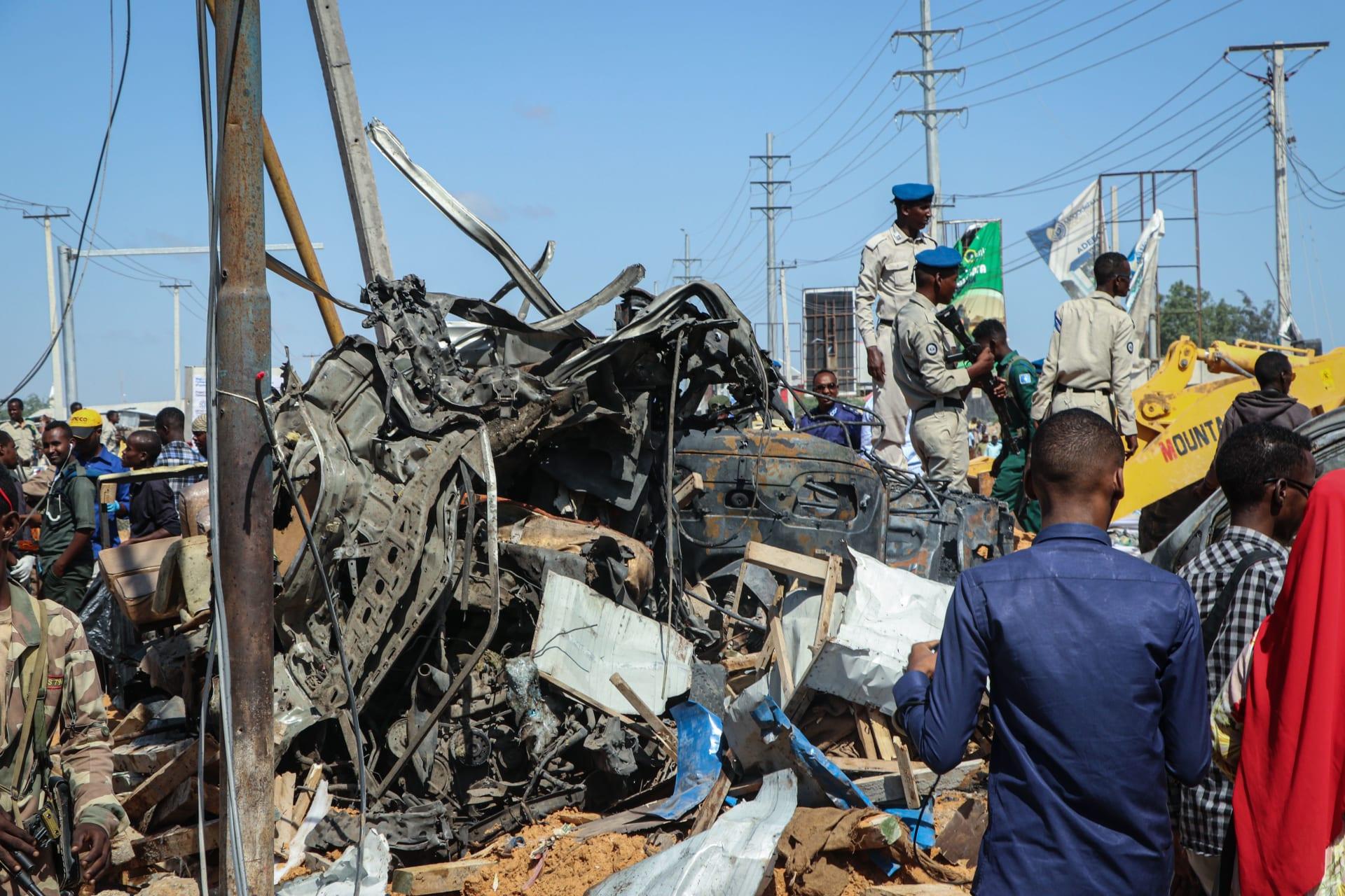 الصومال تعلن انتهاء حصار فندق مقديشو بعد مقتل منفذي هجوم مسلح