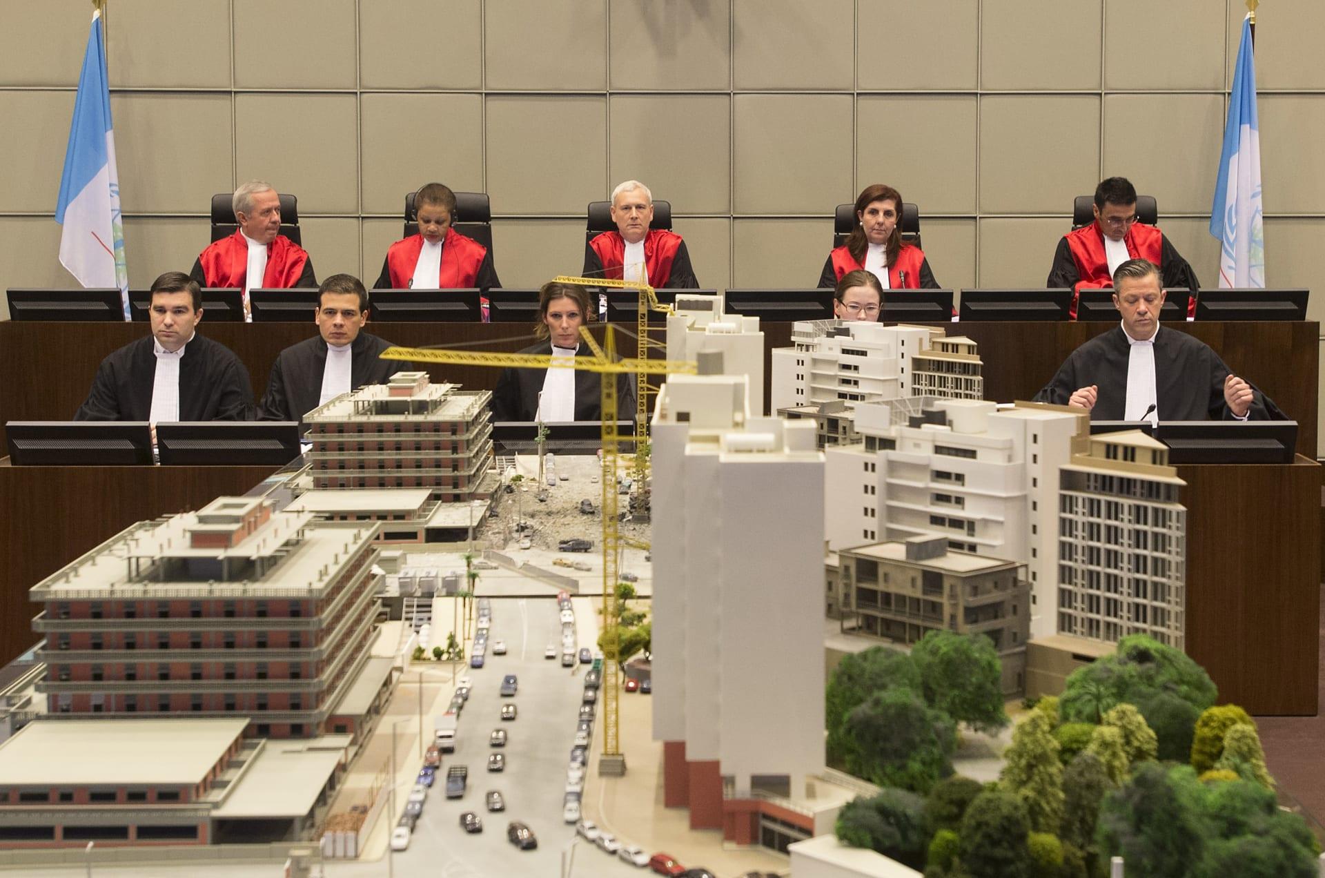 المحكمة الدولية الخاصة بلبنان والتي تنظر قضية اغتيال رئيس الوزراء الأسبق رفيق الحريري