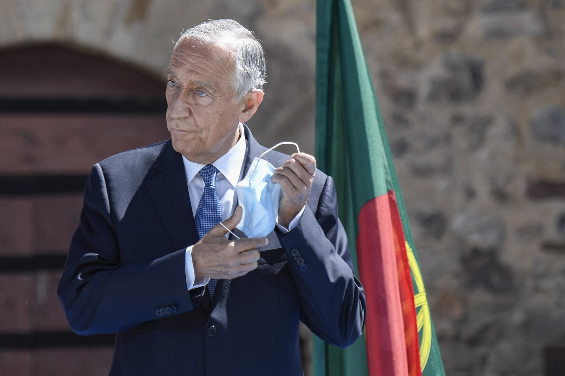 الرئيس البرتغالي مارسيلو ريبيلو دي سوزا
