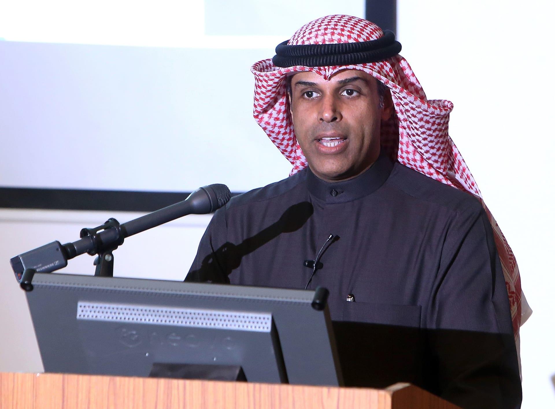 الوزير الكويتي خالد الفاضل