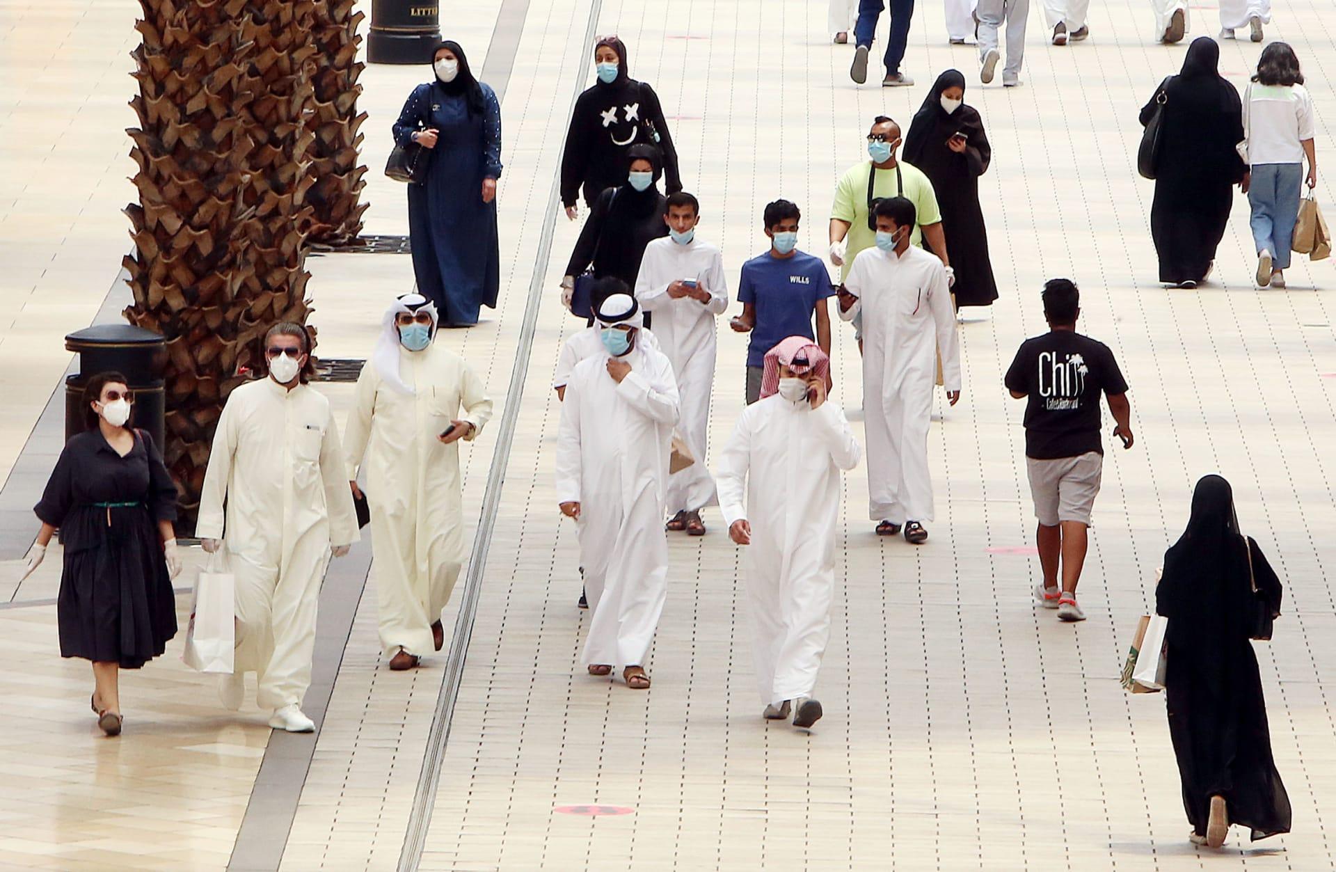 صورة أرشيفية من شوارع الكويت