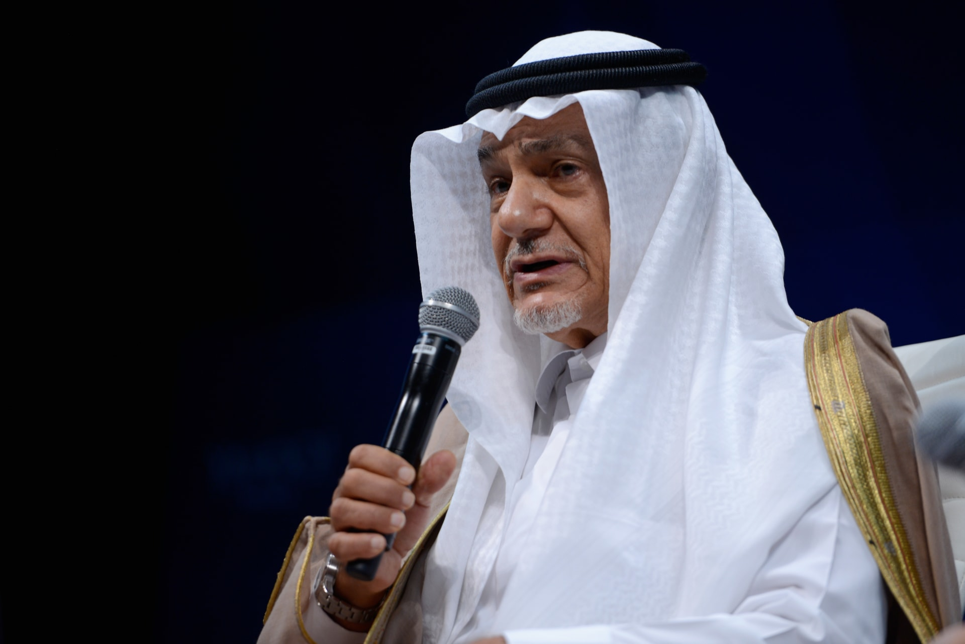 الأمير تركي الفيصل مدير المخابرات السعودية الأسبق