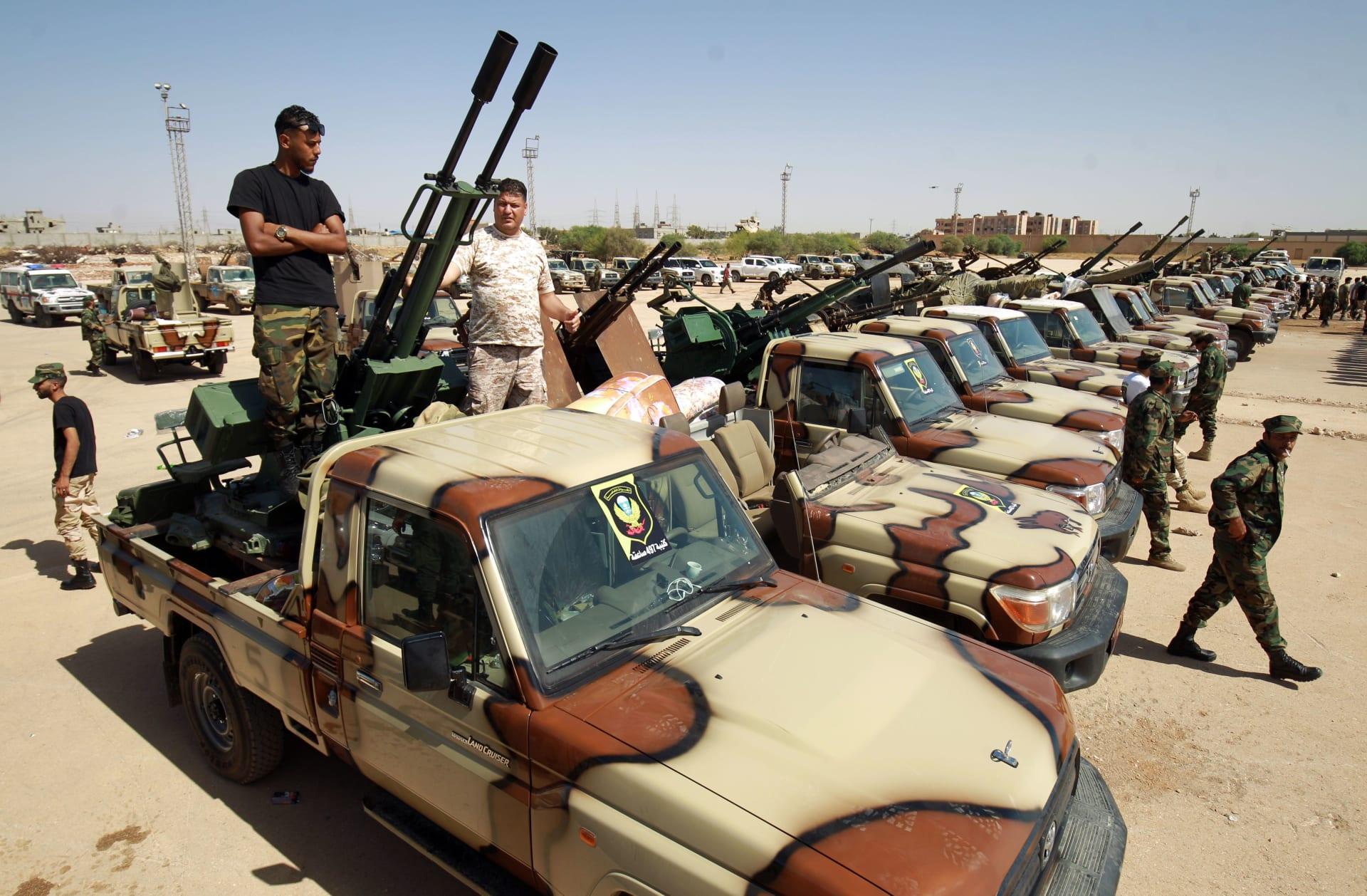 قوات حفتر: مبادرة الوفاق ضحك على الذقون.. ويستعدون لمهاجمة سرت والجفرة
