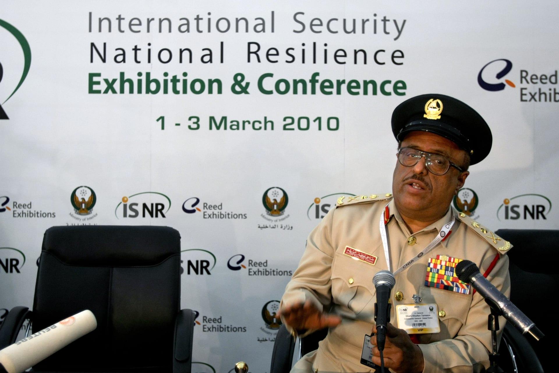 الفريق ضاحي خلفان نائب رئيس شرطة دبي