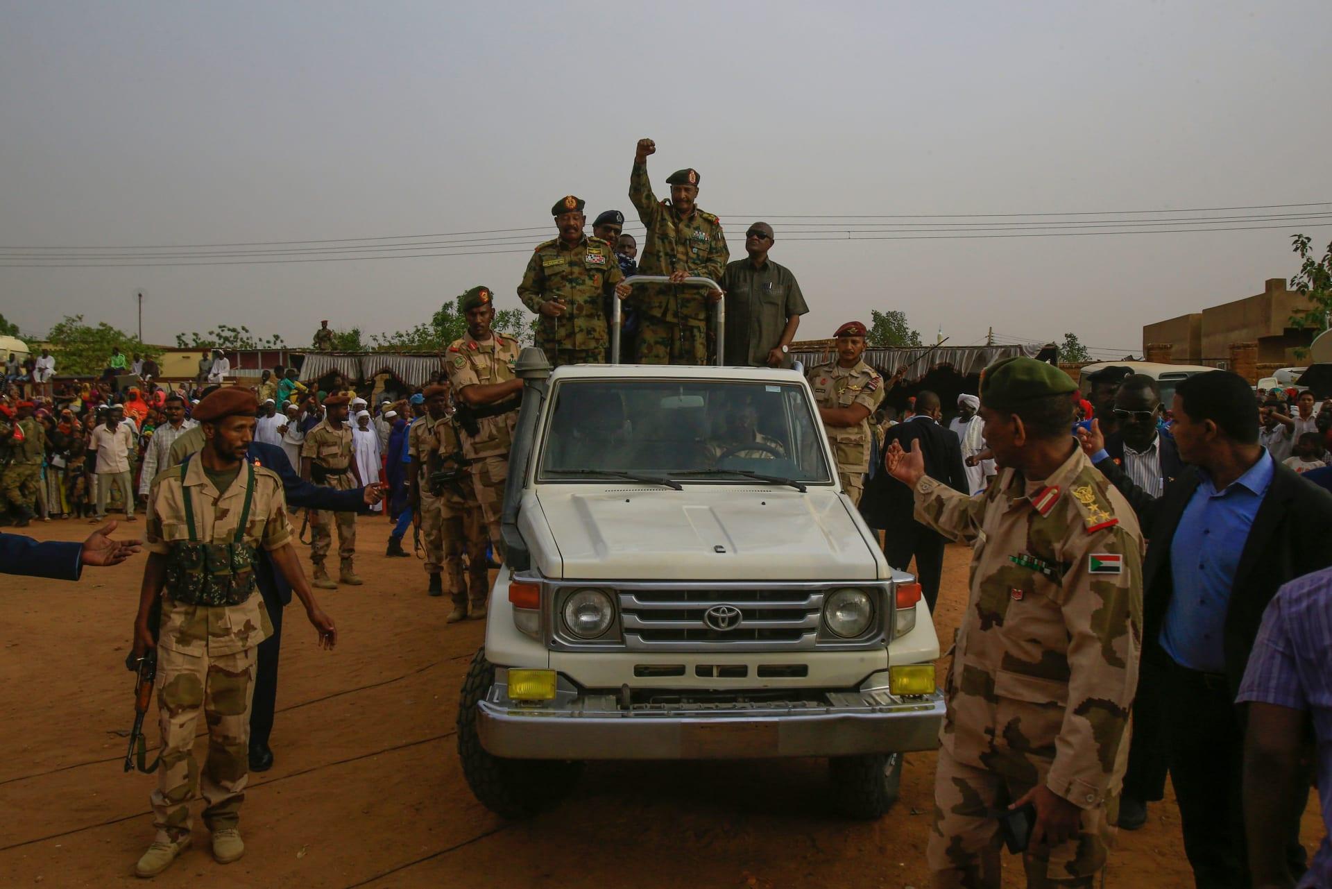 """عضو بـ""""السيادة الانتقالي"""": شركات الجيش السوداني تخضع الضرائب والجمارك"""