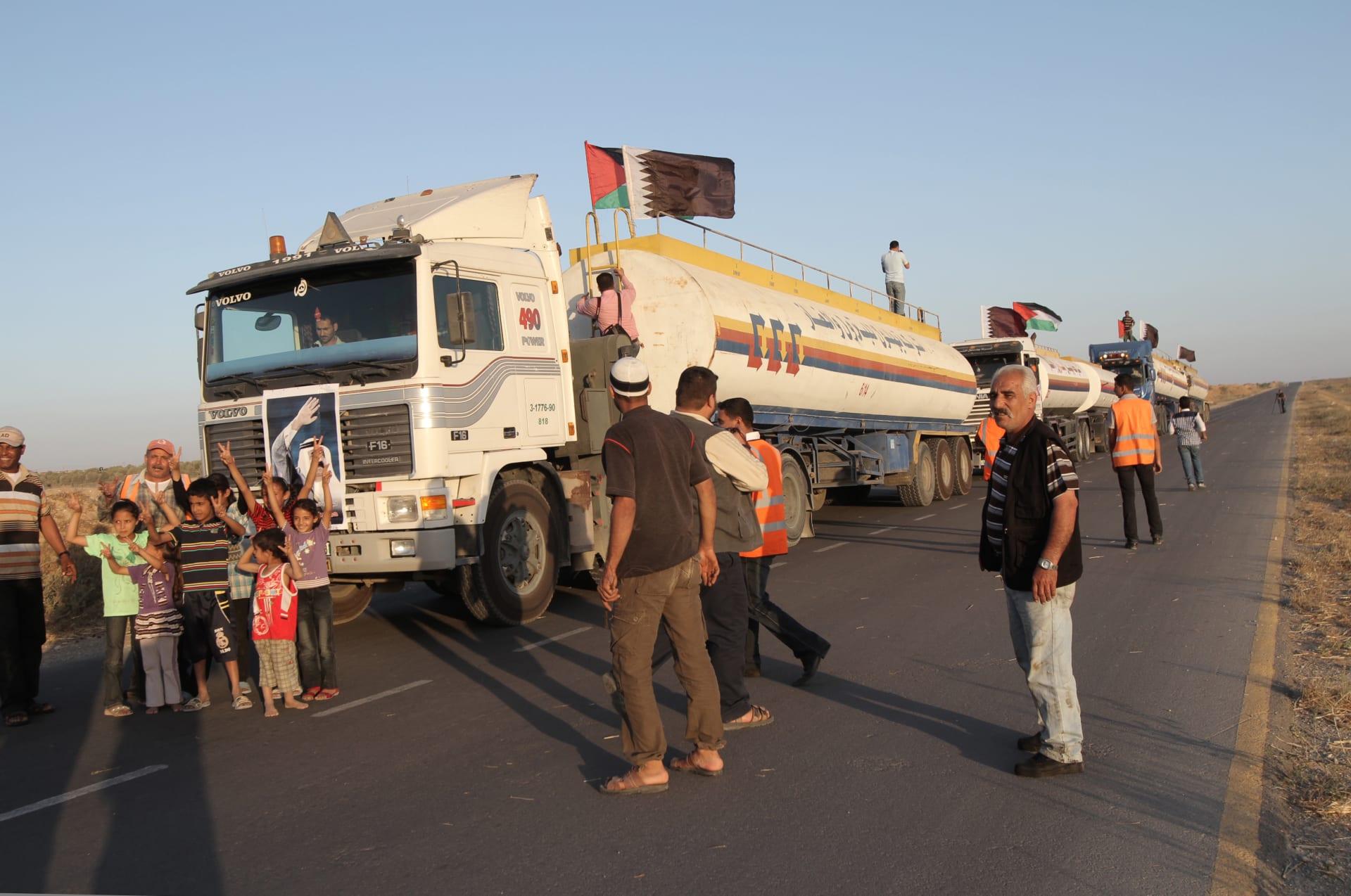 """الأمم المتحدة تخاطب إسرائيل لتسليم الوقود القطري.. وتقارير عن توجه """"العمَادي"""" إلى غزة"""