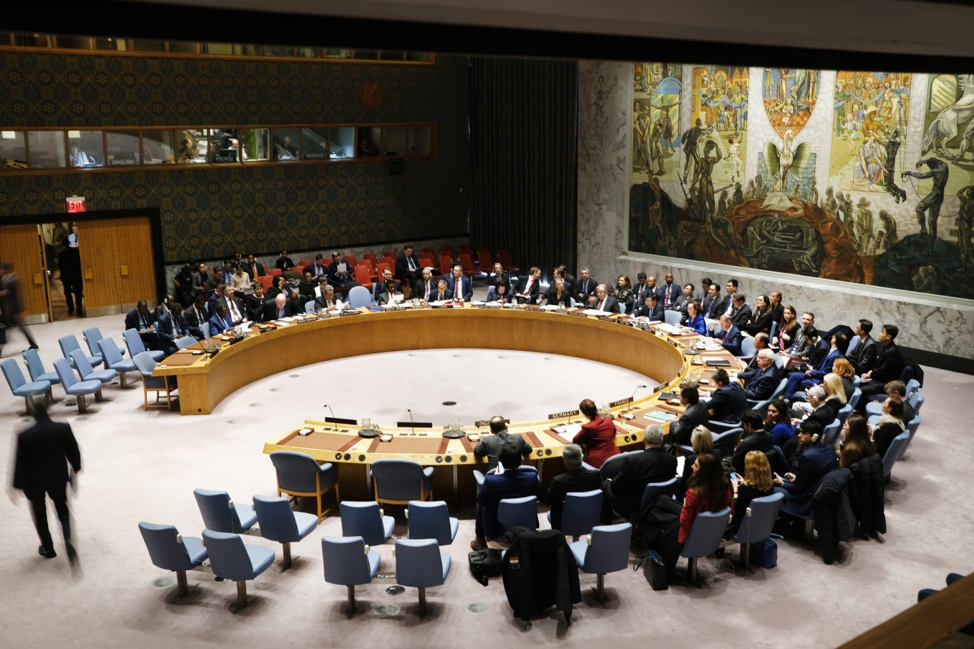 مجلس الأمن: لا يمكن تنفيذ طلب أمريكا استئناف العقوبات ضد إيران
