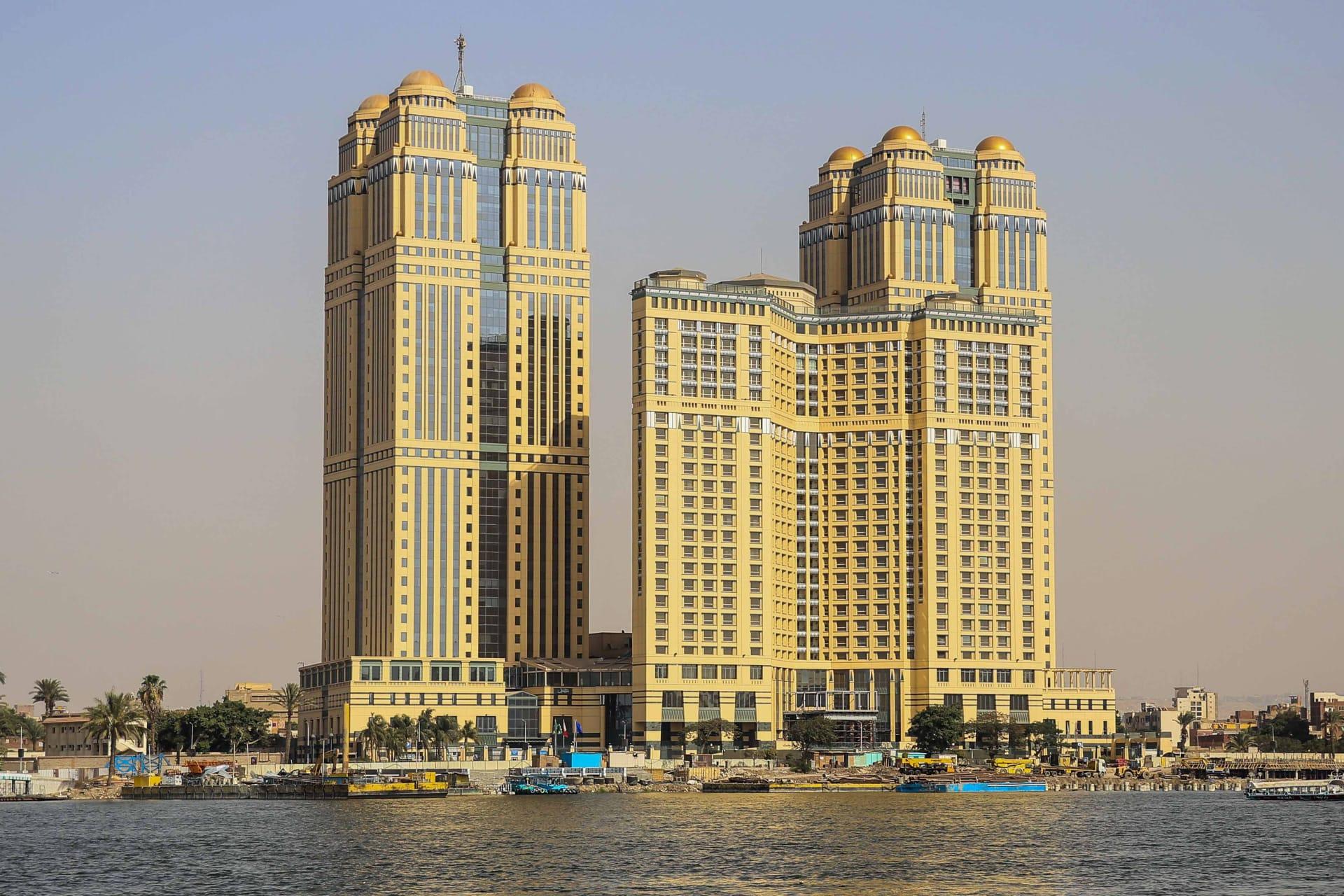 فندق فيرمونت نايل سيتي في العاصمة المصرية القاهرة