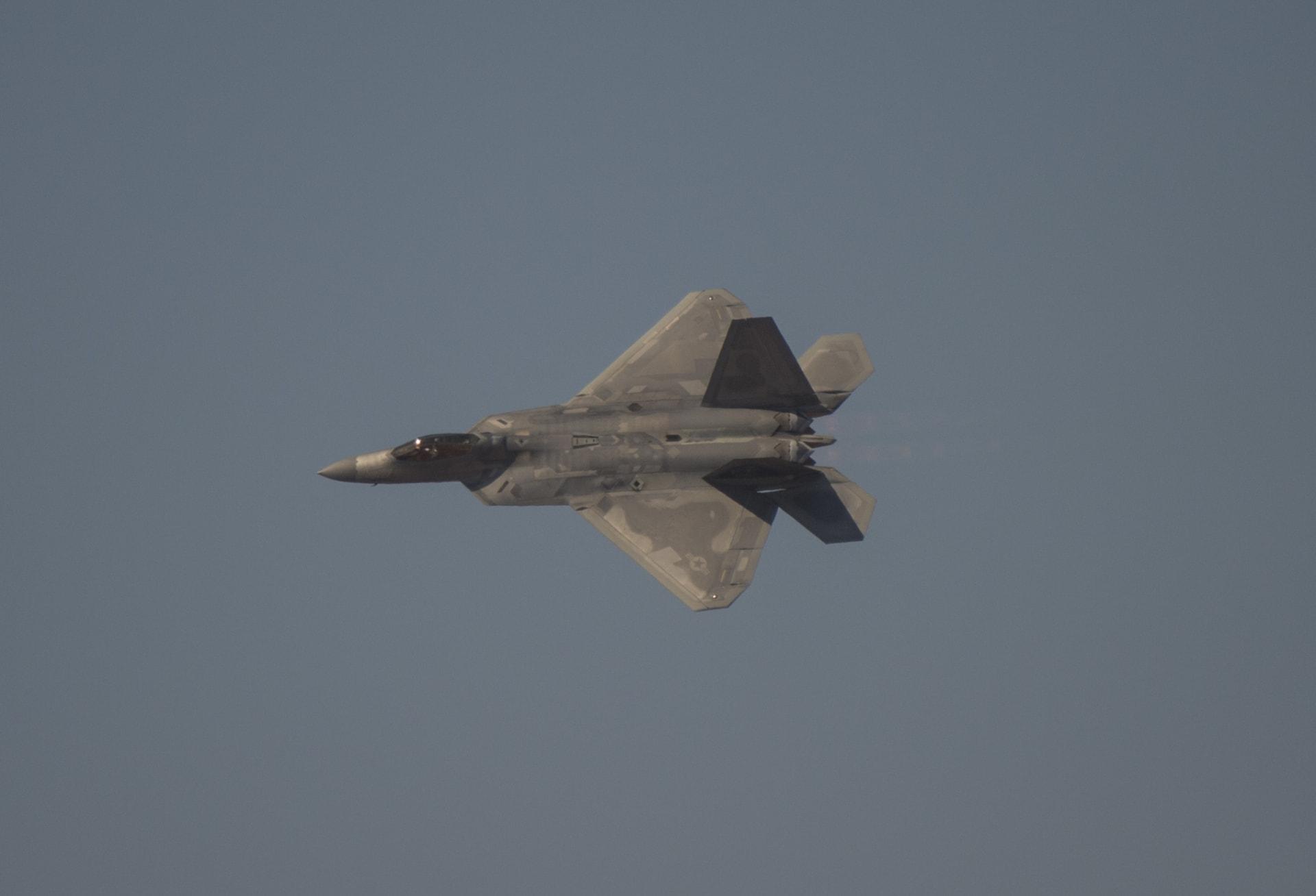 مقاتلة أمريكية من طراز F-22
