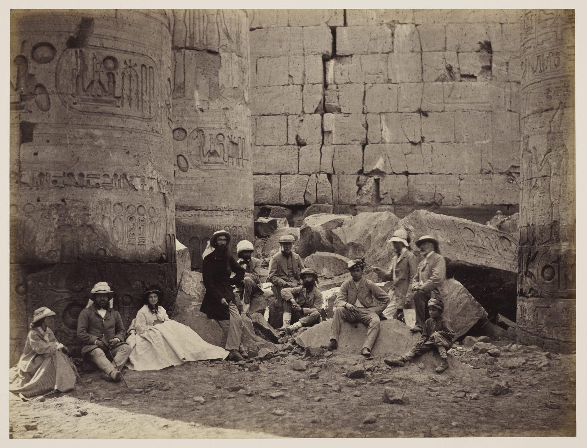 في مصر.. ألق نظرة على أول جولة ملكية تم توثيقها بالصور قبل 150 عام
