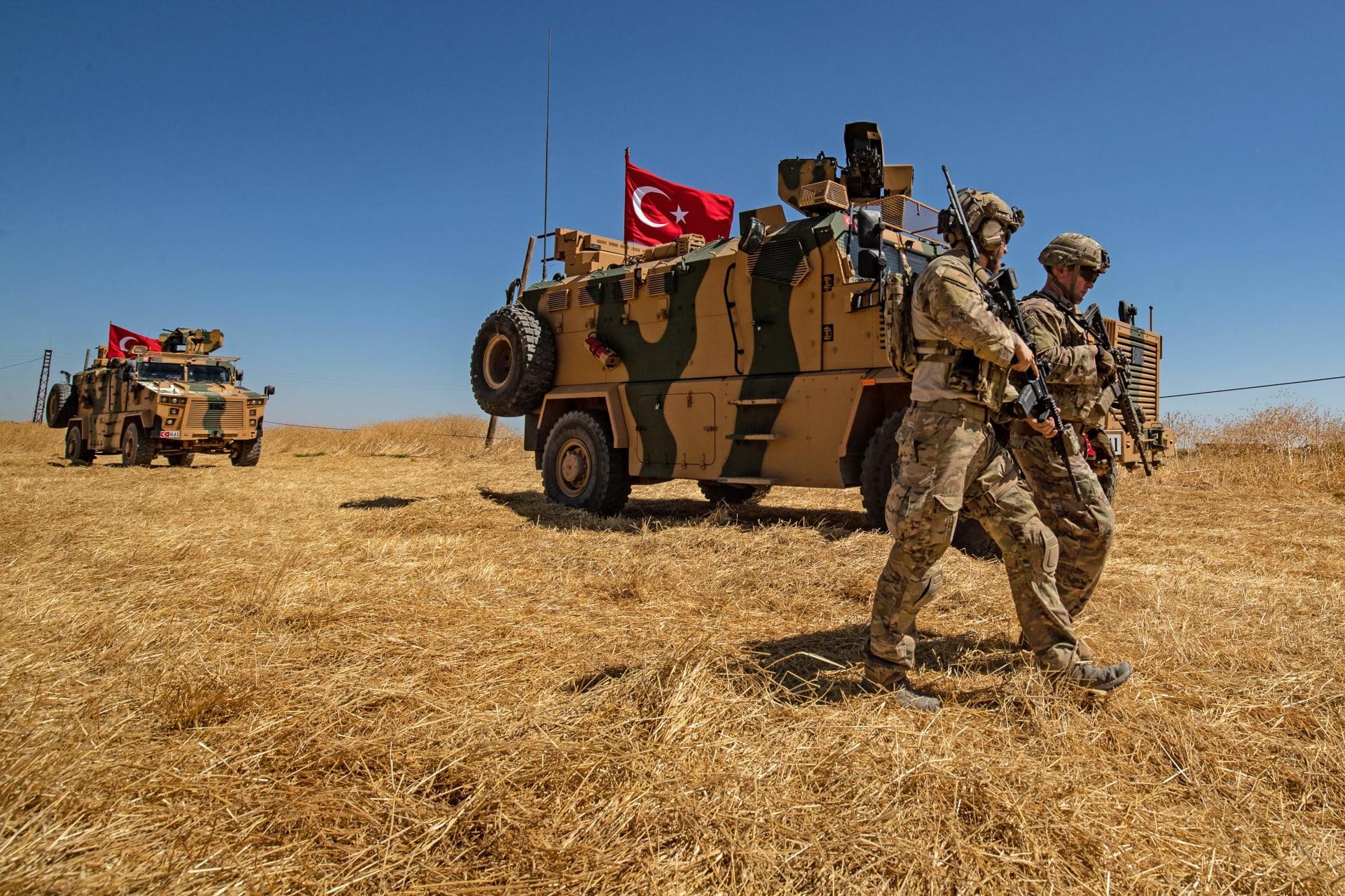 صورة أرشيفية لعناصر بقوات تركية