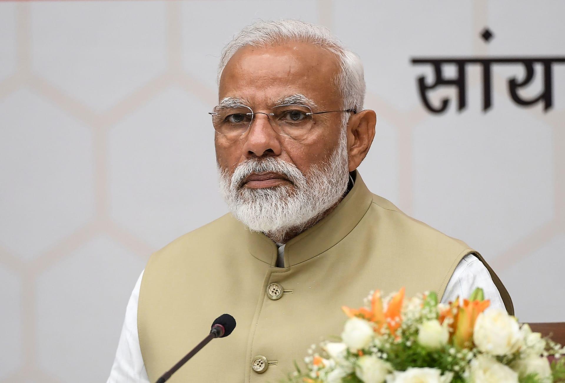 تويتر يحقق في اختراق حساب مرتبط برئيس الوزراء الهندي ناريندرا مودي