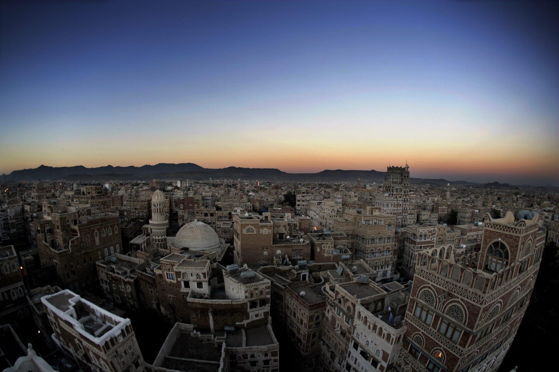 صورة أرشيفية من العاصمة اليمنية، صنعاء