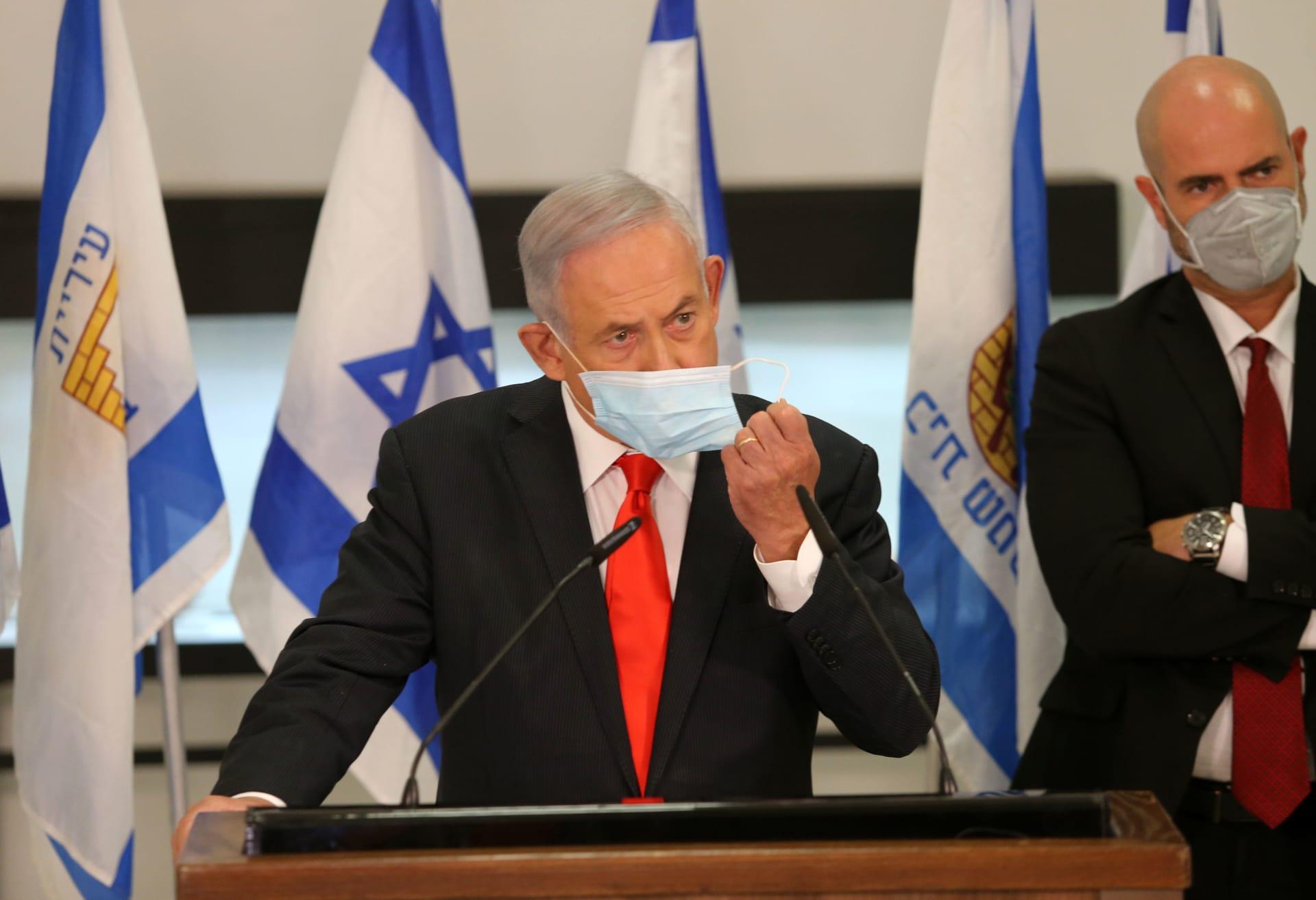 إسرائيل.. نتنياهو: إغلاق عام لـ3 أسابيع مع احتمال التمديد بسبب فيروس كورونا