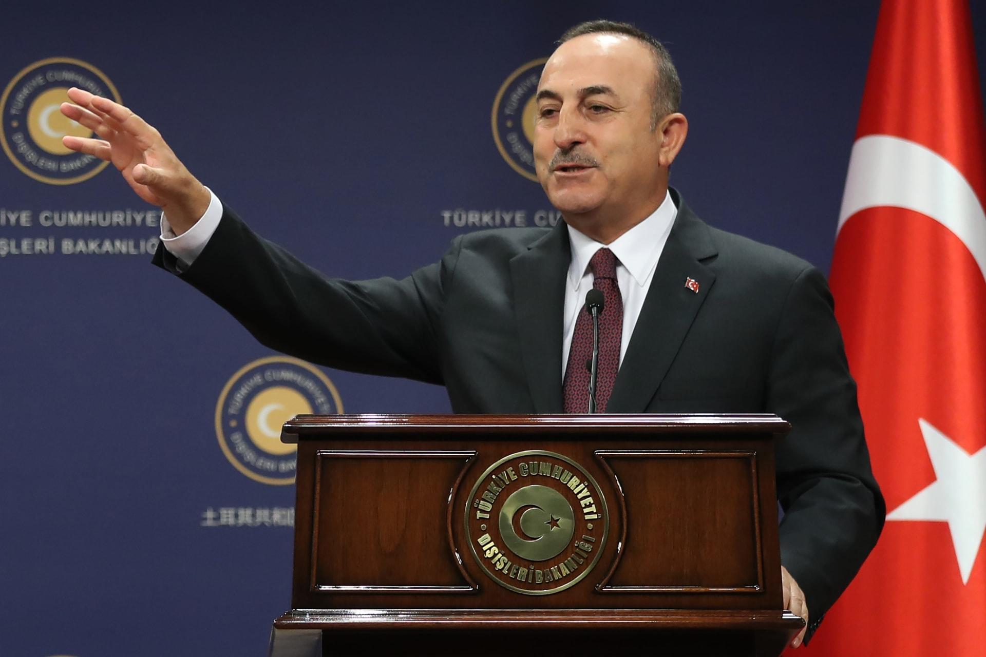 """وزير الخارجية التركي يكشف سبب إعادة السفينة البحثية شرقي المتوسط: """"ليس تراجعا"""""""